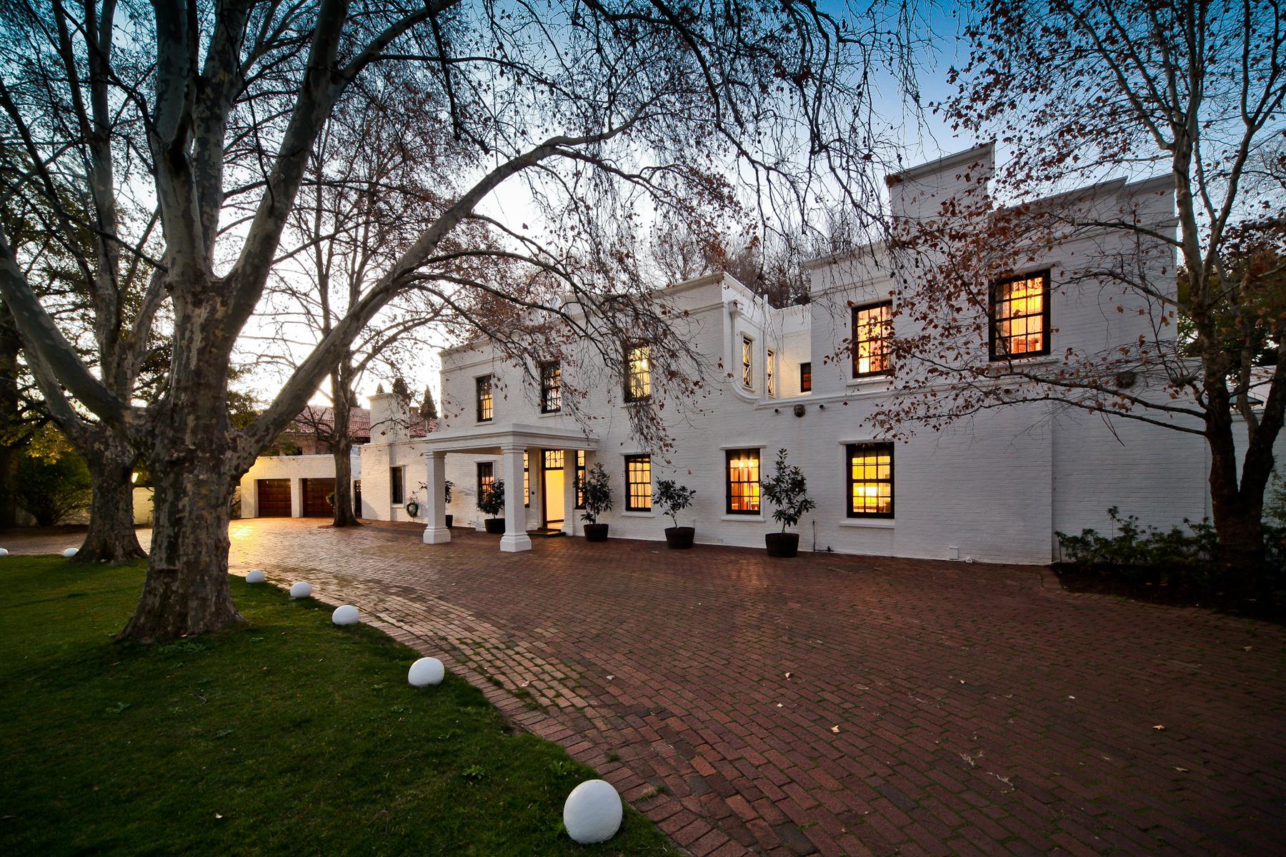 단독 가정 주택 용 매매 에 Sandhurst Sandhurst, Johannesburg, 가우텡 남아프리카