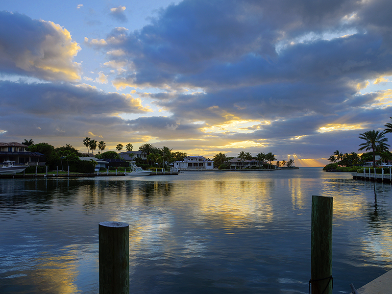 Property For Sale at Stunning Sunsets from Waterfront Home at Ocean Reef