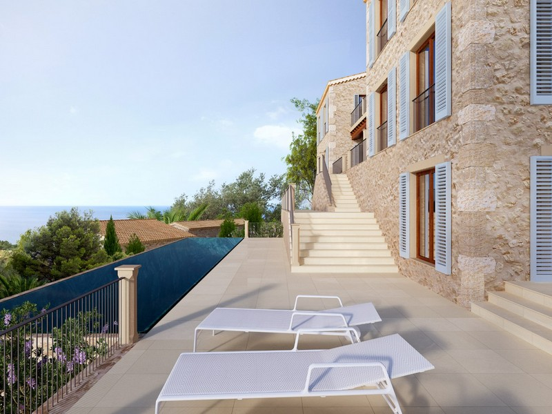 Multi-Family Home for Sale at Building project for a magnificent finca in Deia Deia, Mallorca Spain