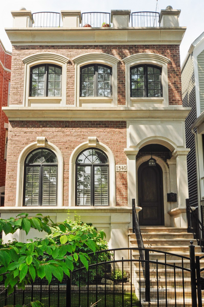 Maison unifamiliale pour l Vente à Luxury Home in the Heart of Lakeview 1540 W George Street Lakeview, Chicago, Illinois, 60657 États-Unis