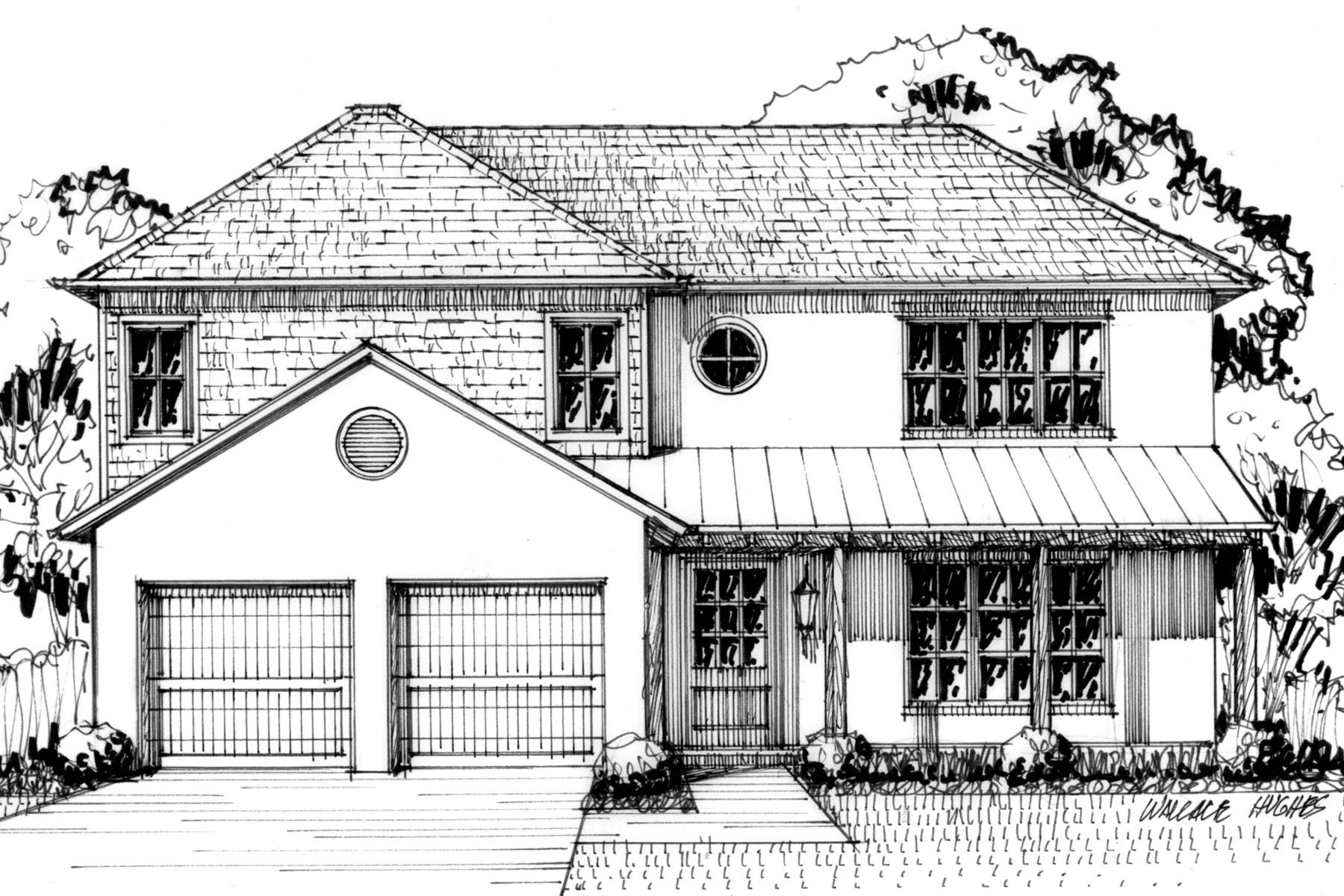 Casa para uma família para Venda às Greenway Crest New Construction 5407 Glenwick Lane Dallas, Texas, 75209 Estados Unidos