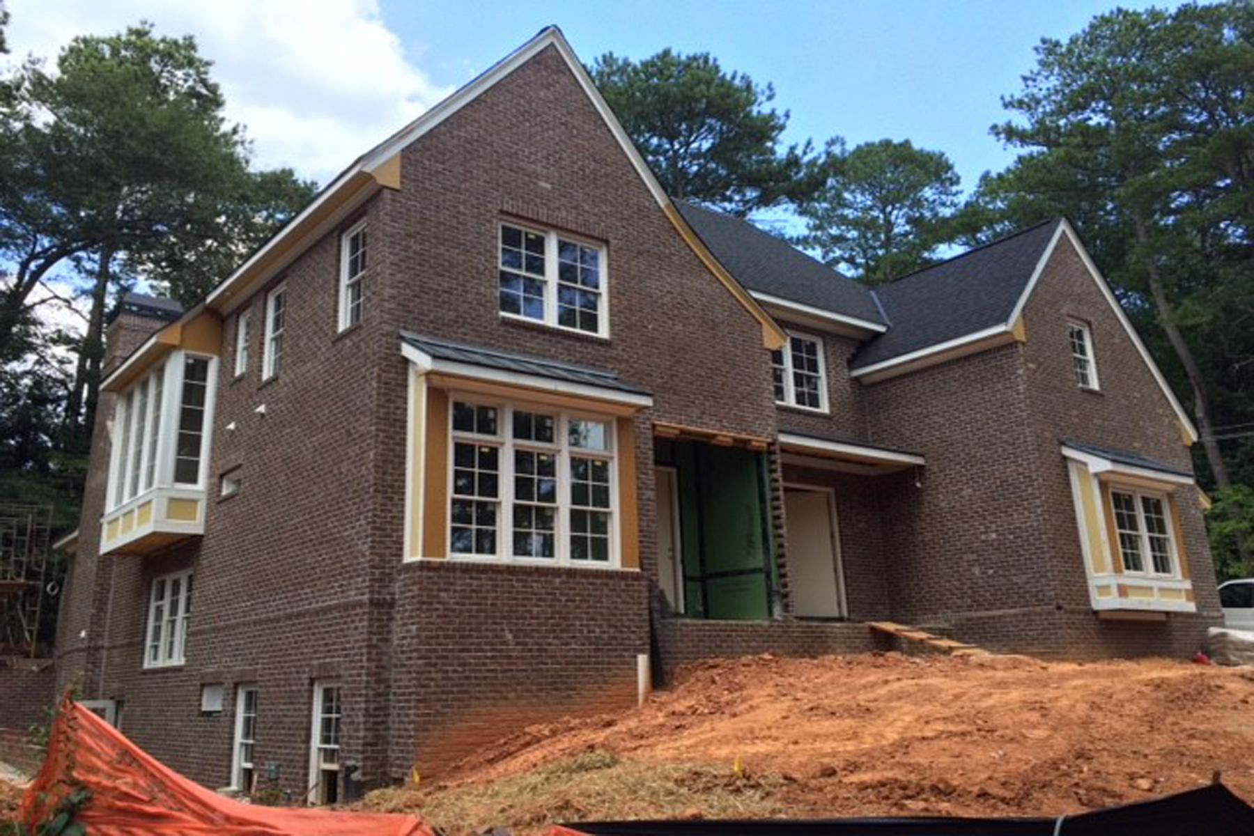 Casa Unifamiliar por un Venta en New Construction Home In Buckhead 1287 Battleview Drive NW Buckhead, Atlanta, Georgia 30327 Estados Unidos