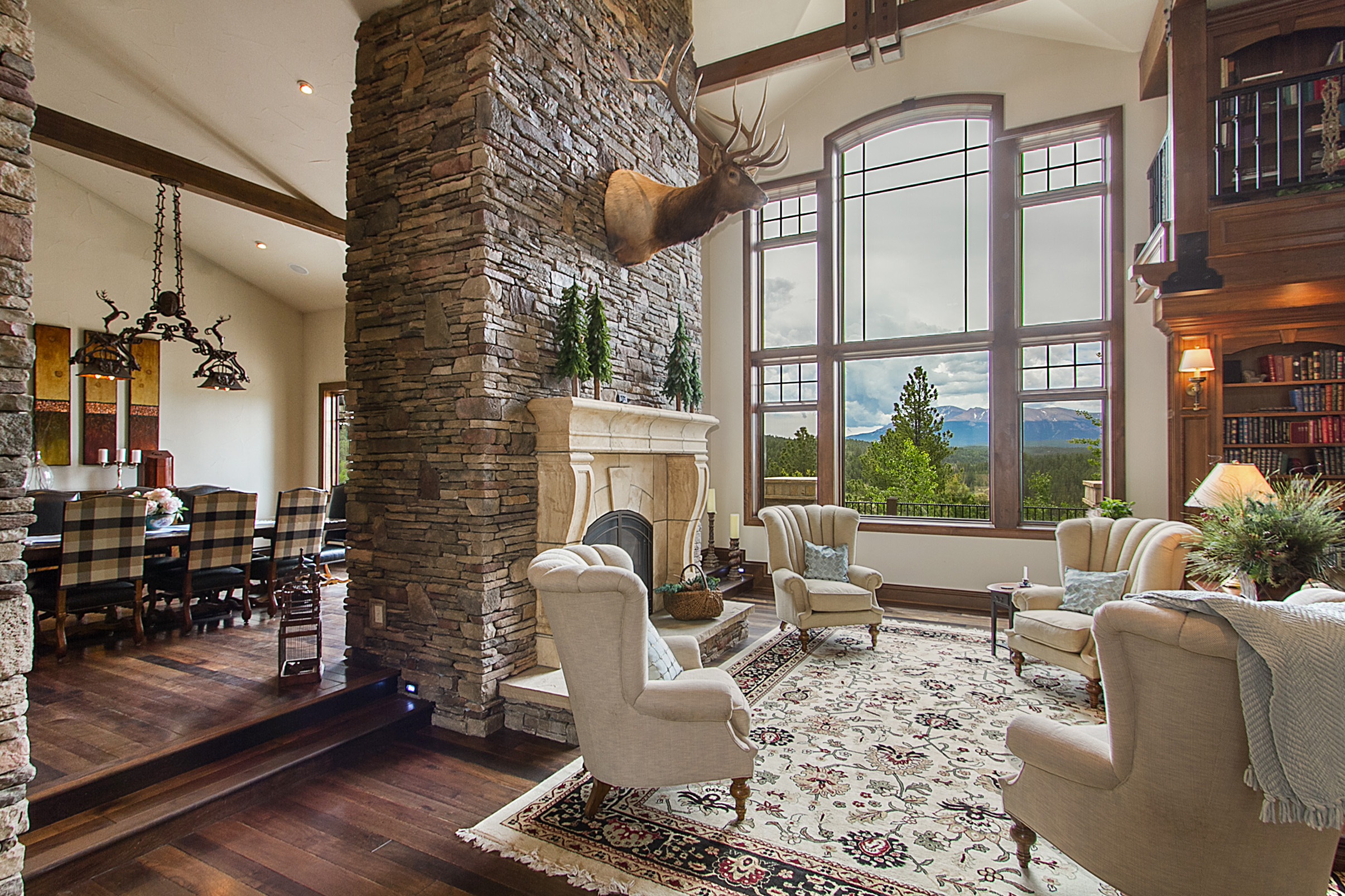 Property Of Divide Home Features Unforgettable Views of Pikes Peak