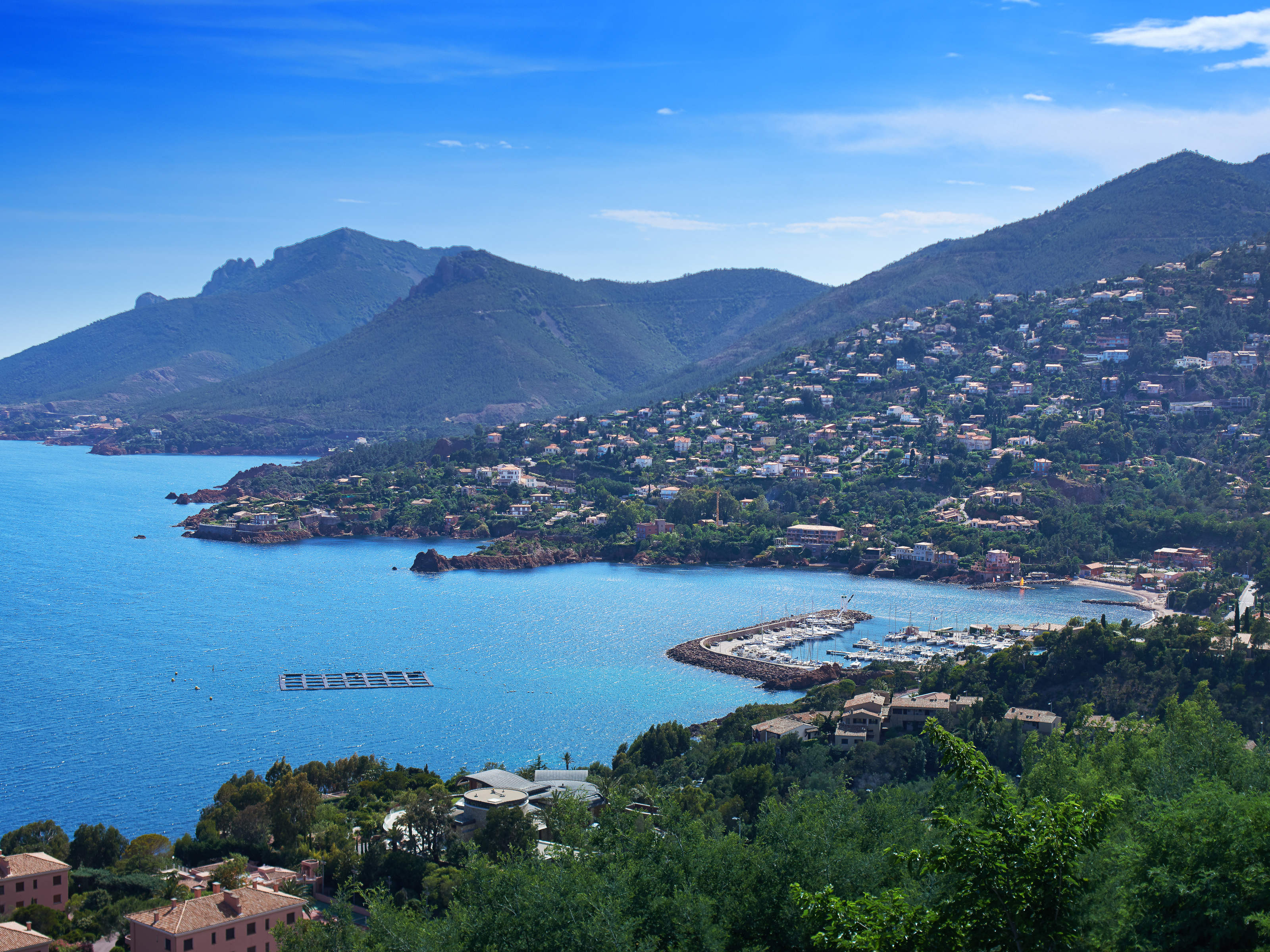 Single Family Home for Sale at Luxurious villa Theoule Sur Mer, Provence-Alpes-Cote D'Azur 06590 France
