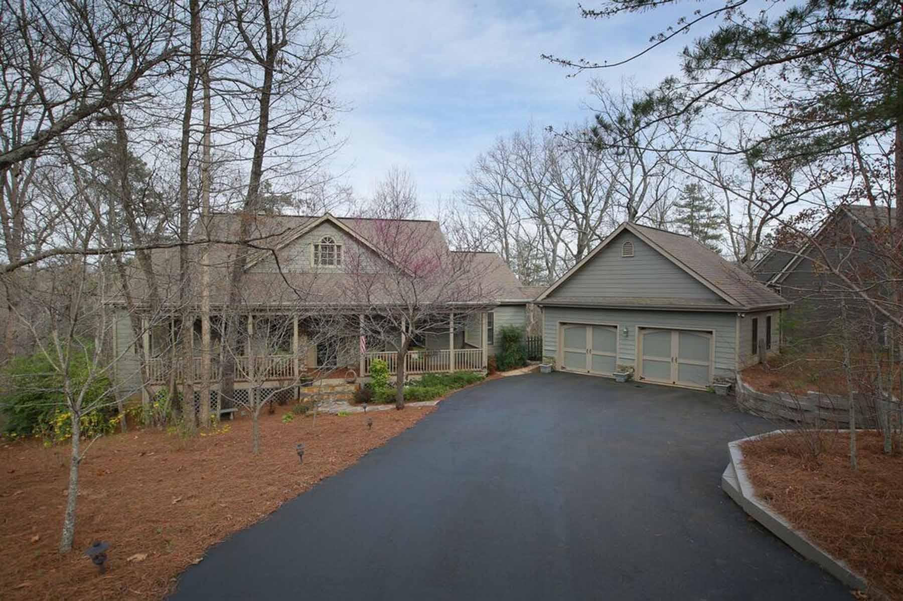 Single Family Home for Sale at Charming Mountain Home 62 Cherokee Knoll Big Canoe, Georgia, 30143 United States