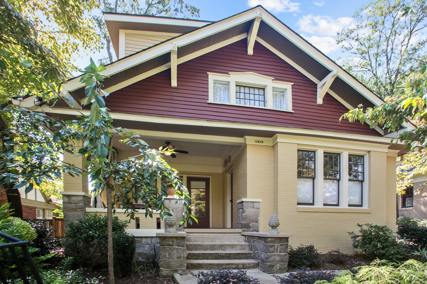 Property For Sale at Renovated Virginia Highland Home With Carriage House