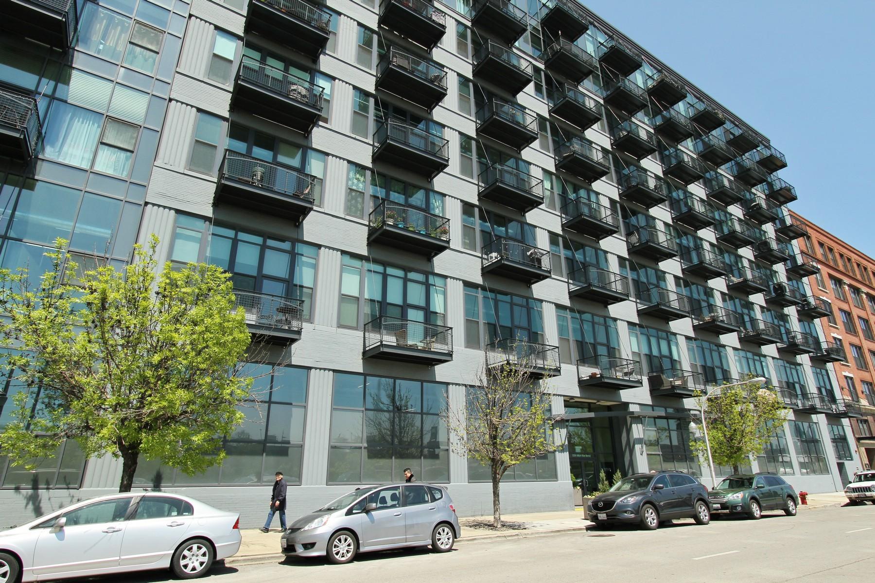 Tek Ailelik Ev için Satış at Fabulous 2BR Condo 1224 W Van Buren Street Unit 302 Near West Side, Chicago, Illinois, 60607 Amerika Birleşik Devletleri