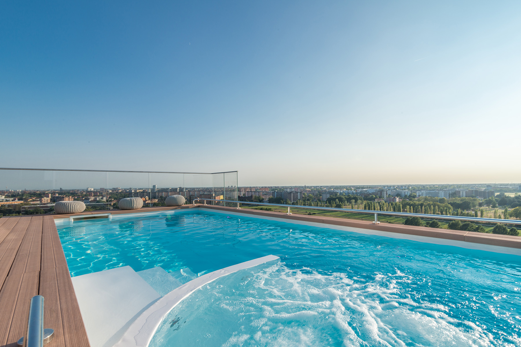 Duplex for Sale at Unique triplex with panoramic pool and views of the skyline and beyond Via Pinerolo Milano, 20121 Italy