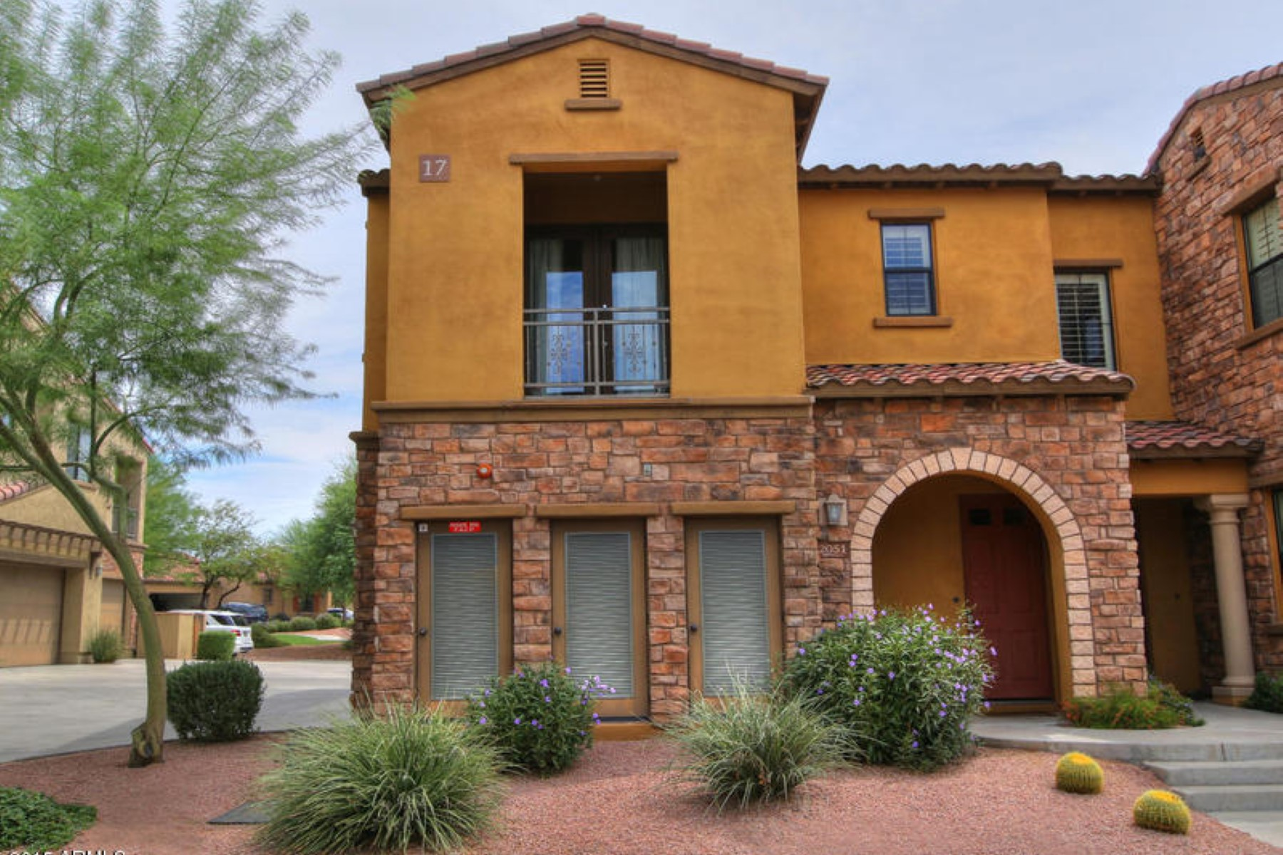 Property For Sale at Lovely home nestled in Grayhawk's most elite Townhome community.