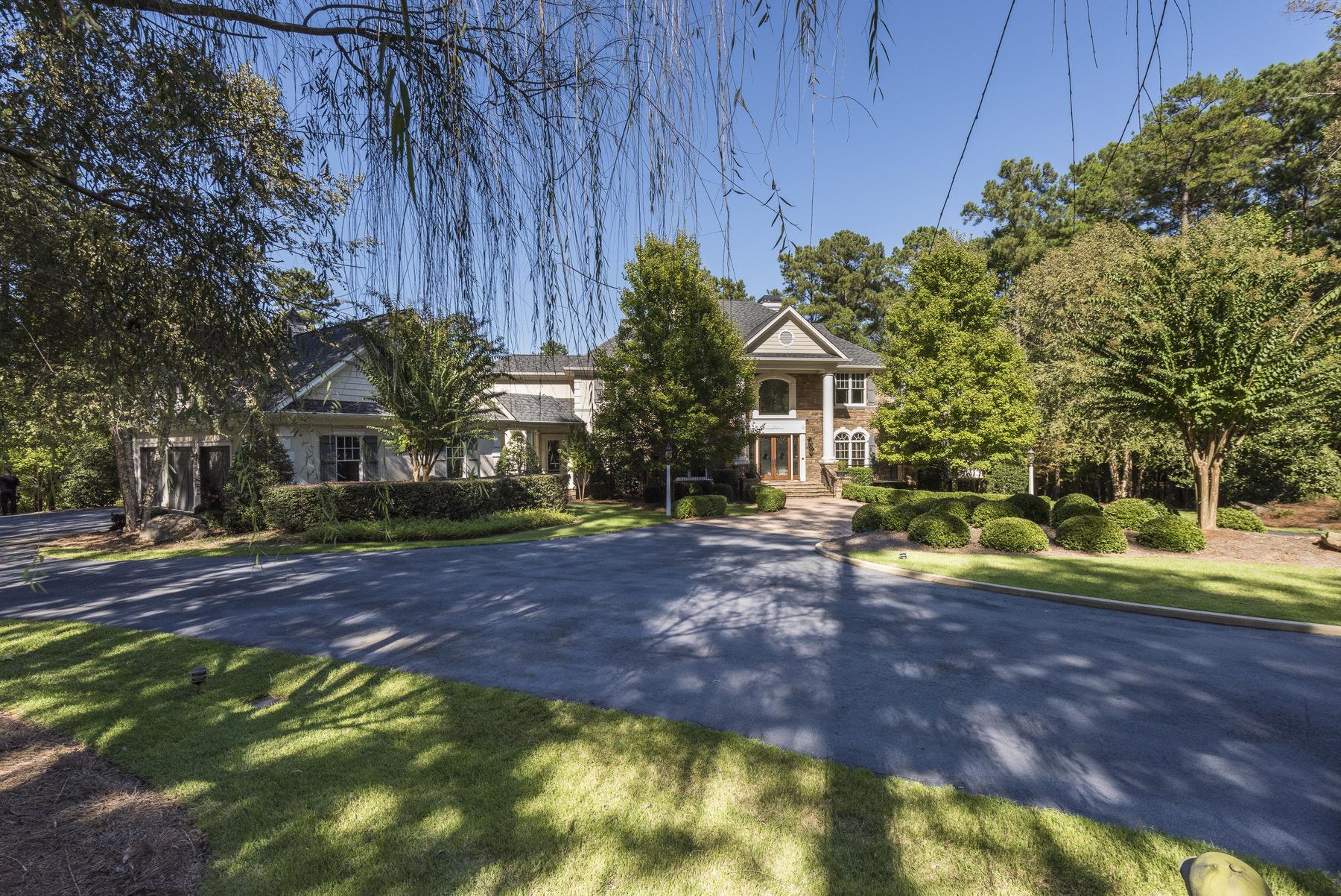 Частный односемейный дом для того Продажа на Waterfront Retreat Reynolds at Lake Oconee 1001 Little Bits Lane Greensboro, Джорджия 30642 Соединенные Штаты