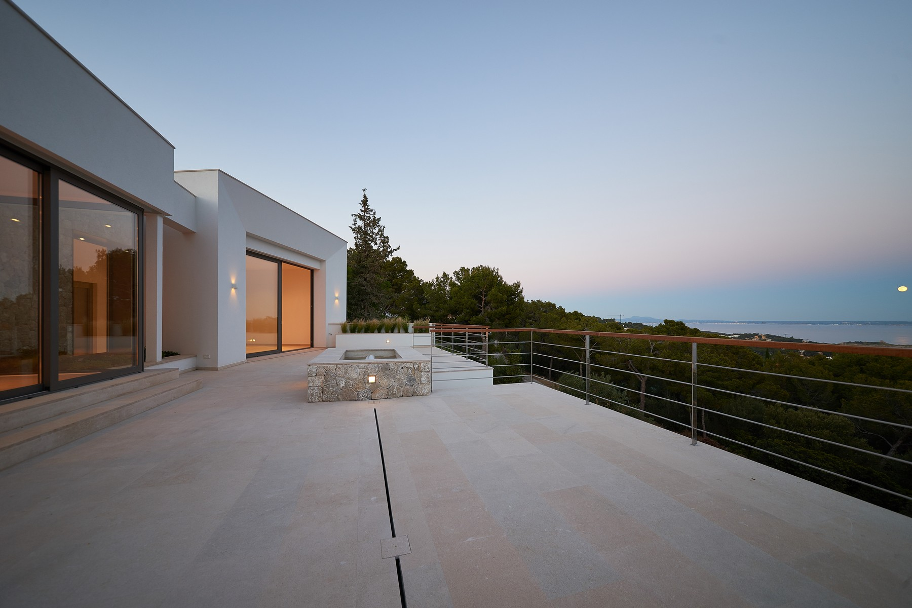 Einfamilienhaus für Verkauf beim Designer villa in Costa d'en Blanes with sea view Costa D En Blanes, Mallorca 07181 Spanien