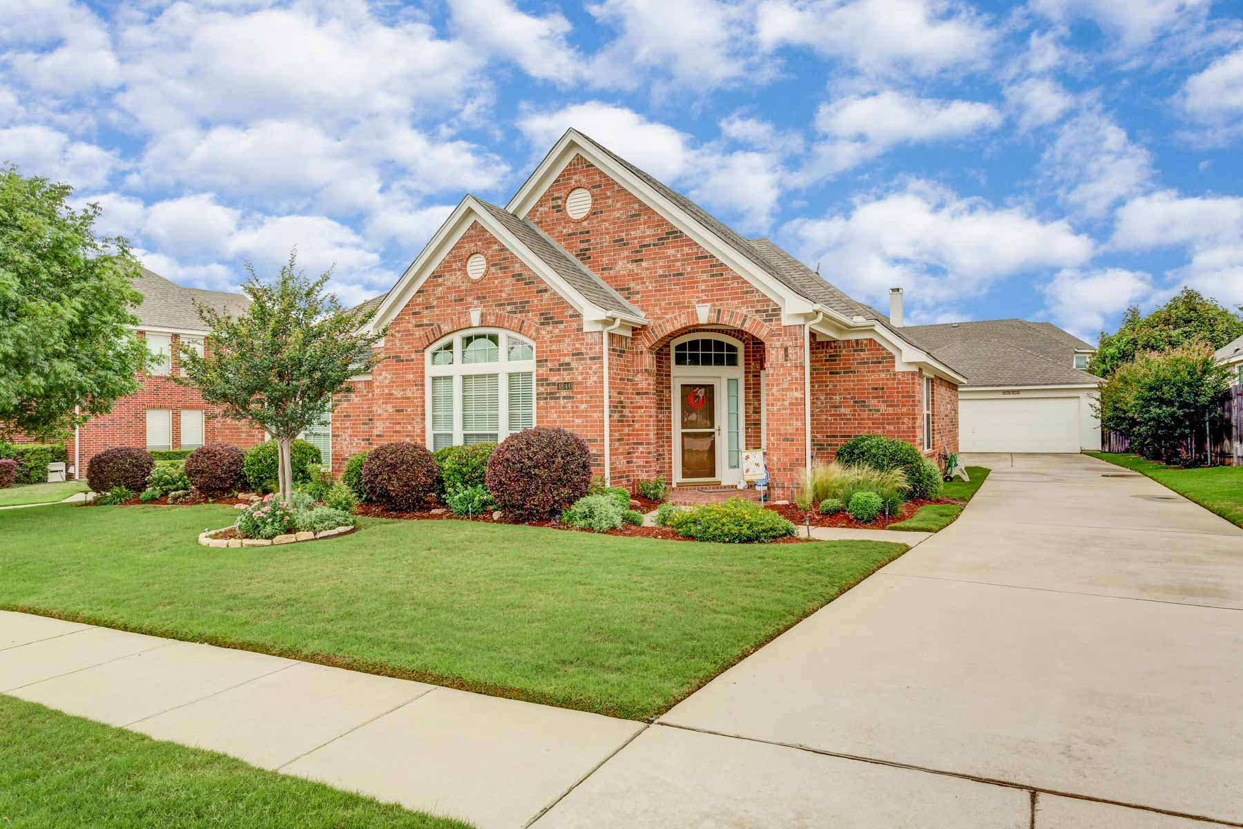 Single Family Home for Sale at Perry Model Home in Summer Creek Ranch 4644 Edenwood Drive Fort Worth, Texas, 76123 United States