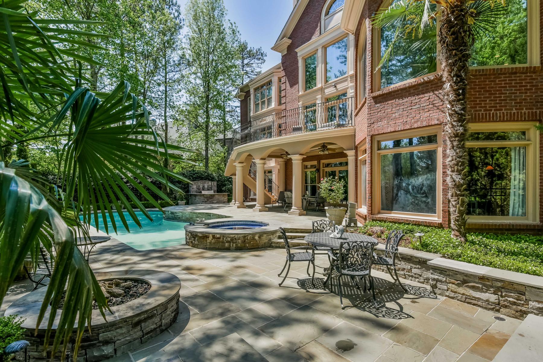 Nhà ở một gia đình vì Bán tại Grandeur on the Green 1002 Cherbury Lane Alpharetta, Georgia 30022 Hoa Kỳ