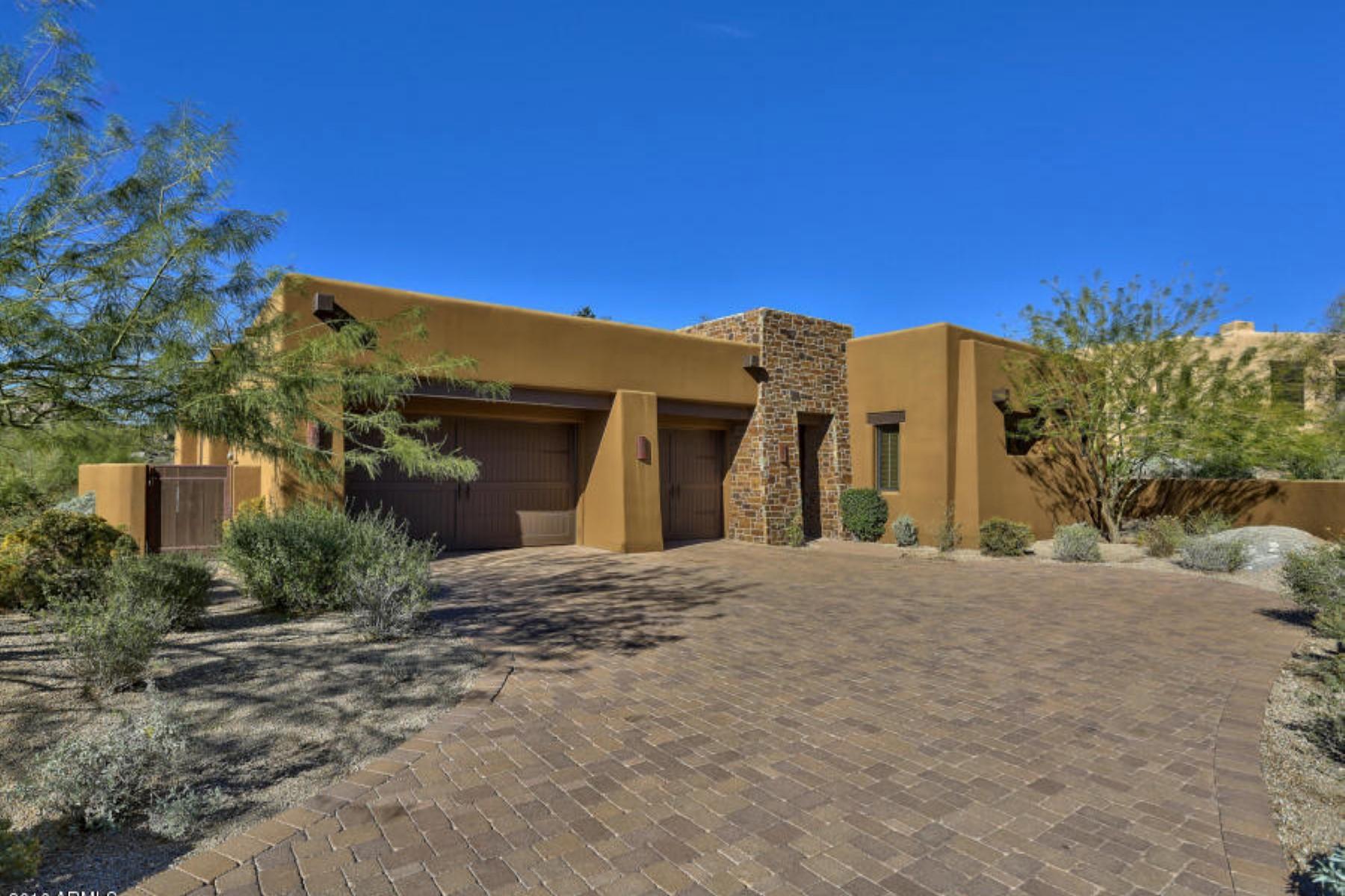 Einfamilienhaus für Verkauf beim One of only a four homes available at the Four Seasons resort 10585 E Crescent Moon Dr #40 Scottsdale, Arizona 85262 Vereinigte Staaten