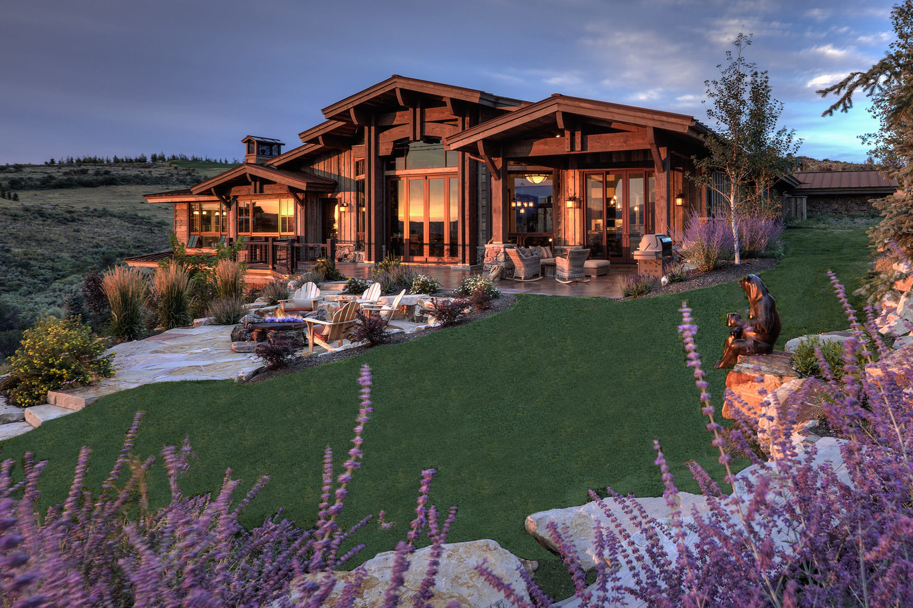 Maison unifamiliale pour l Vente à This Is The Wow Home On The Wow Lot In All Of Promontory 3347 E Pete Dye Draw Park City, Utah, 84098 États-Unis