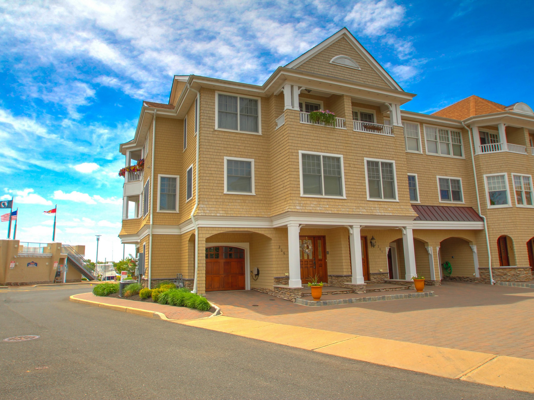 Single Family Home for Sale at Luxurious 3 Story Townhome 206 River Mist Way Brielle, New Jersey 08730 United States