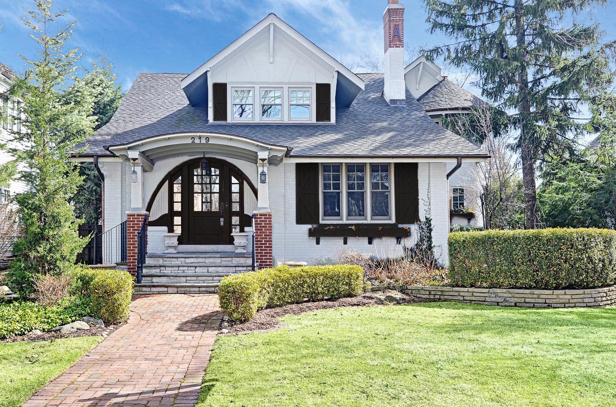 Tek Ailelik Ev için Satış at North Lincoln 219 N. Lincoln Hinsdale, Illinois, 60521 Amerika Birleşik Devletleri