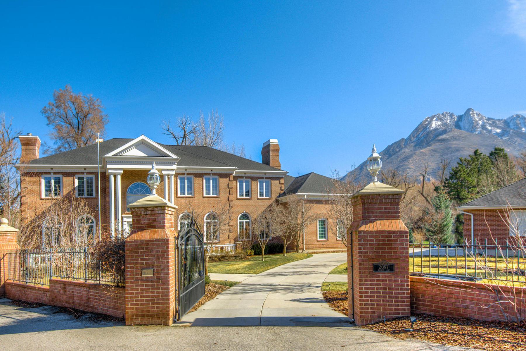 独户住宅 为 销售 在 Elegant Holladay Estate 2097 E Walker Ln Holladay, 犹他州 84117 美国