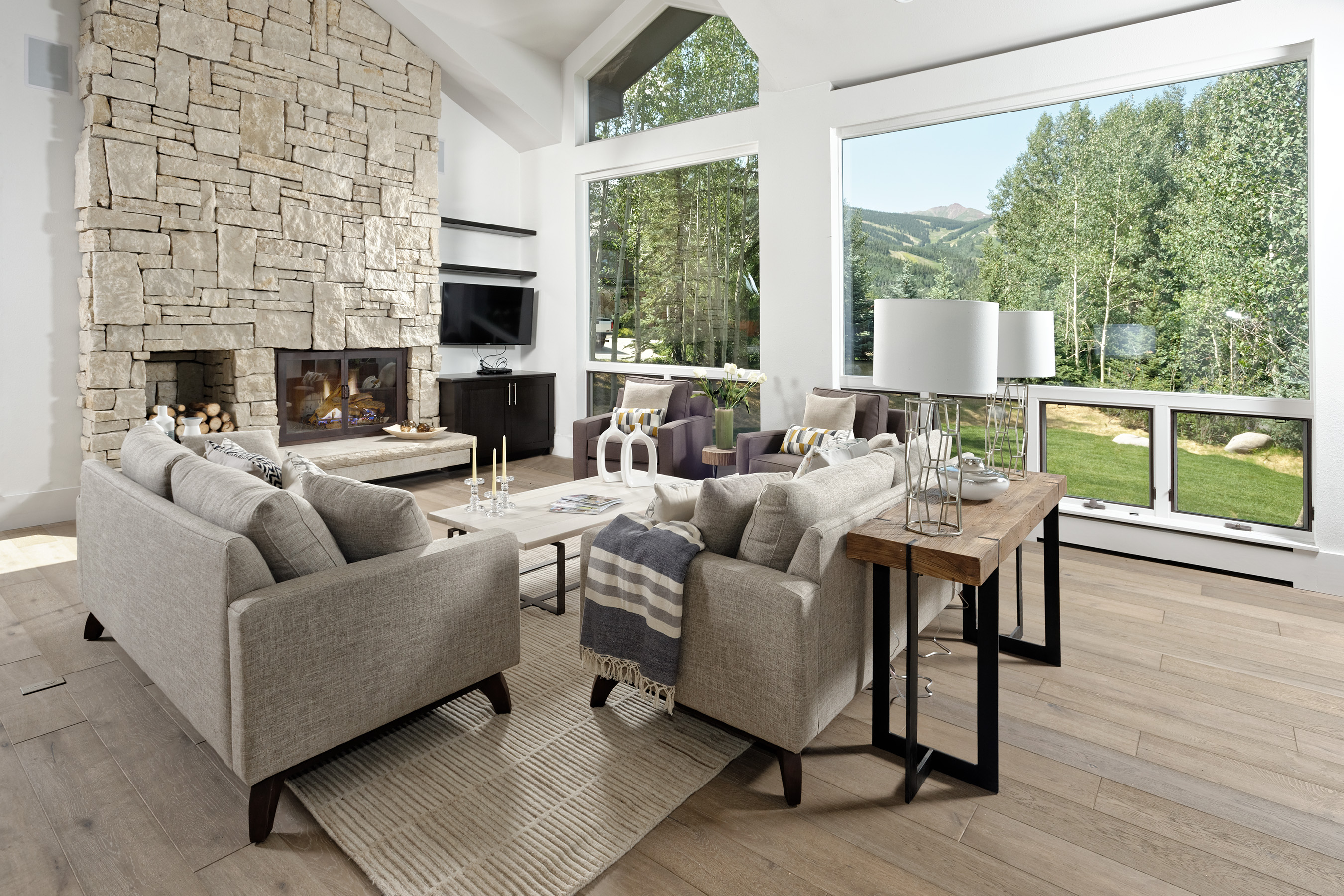 Maison unifamiliale pour l Vente à Ridge Run IV Lot 38 124 Baby Doe Lane Snowmass Village, Colorado, 81615 États-Unis