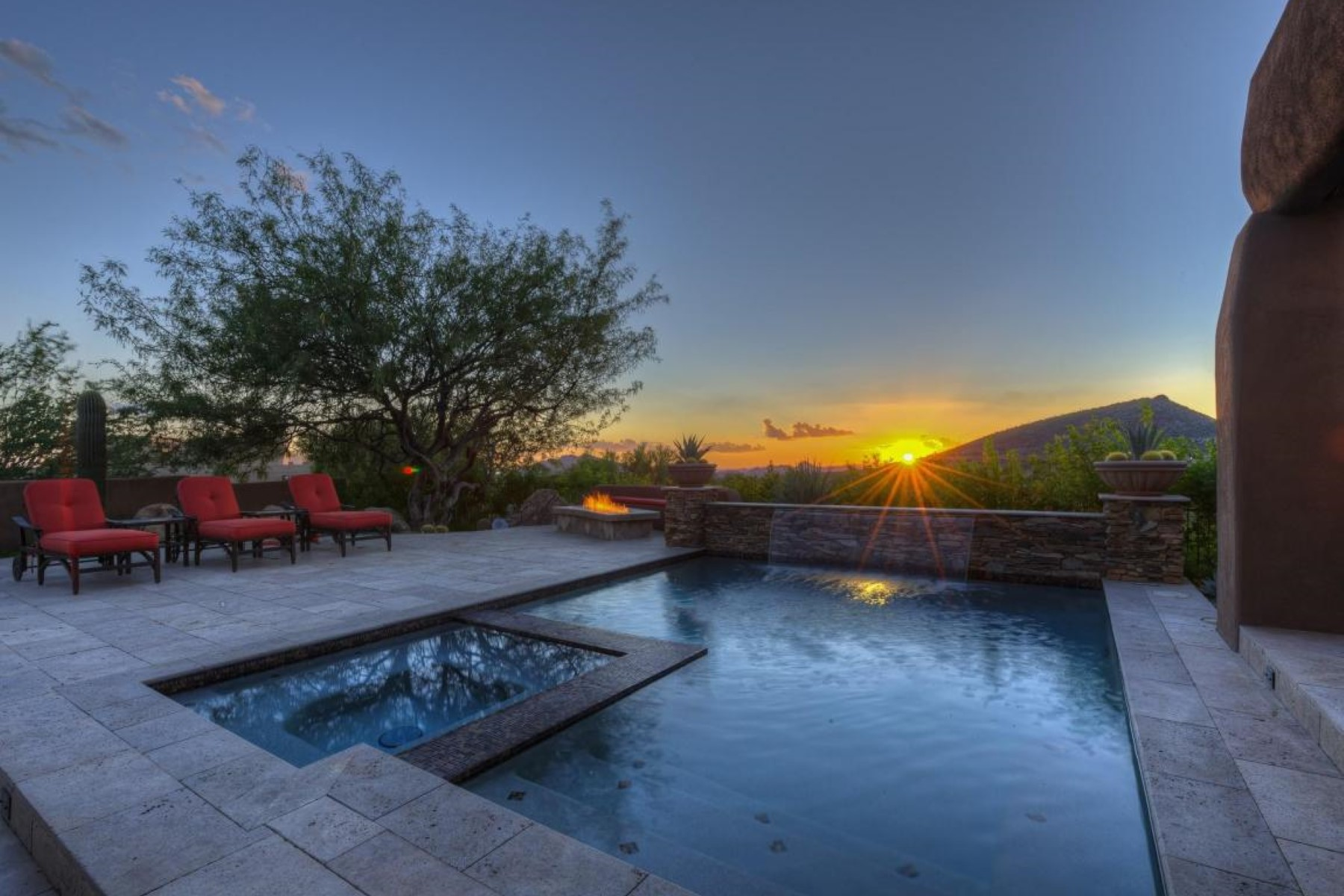 rentals property at Classic desert contemporary in Scottsdale