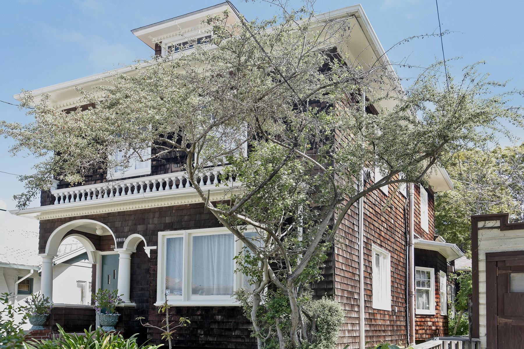 sales property at Classic Berkeley Brown Shingle Triplex