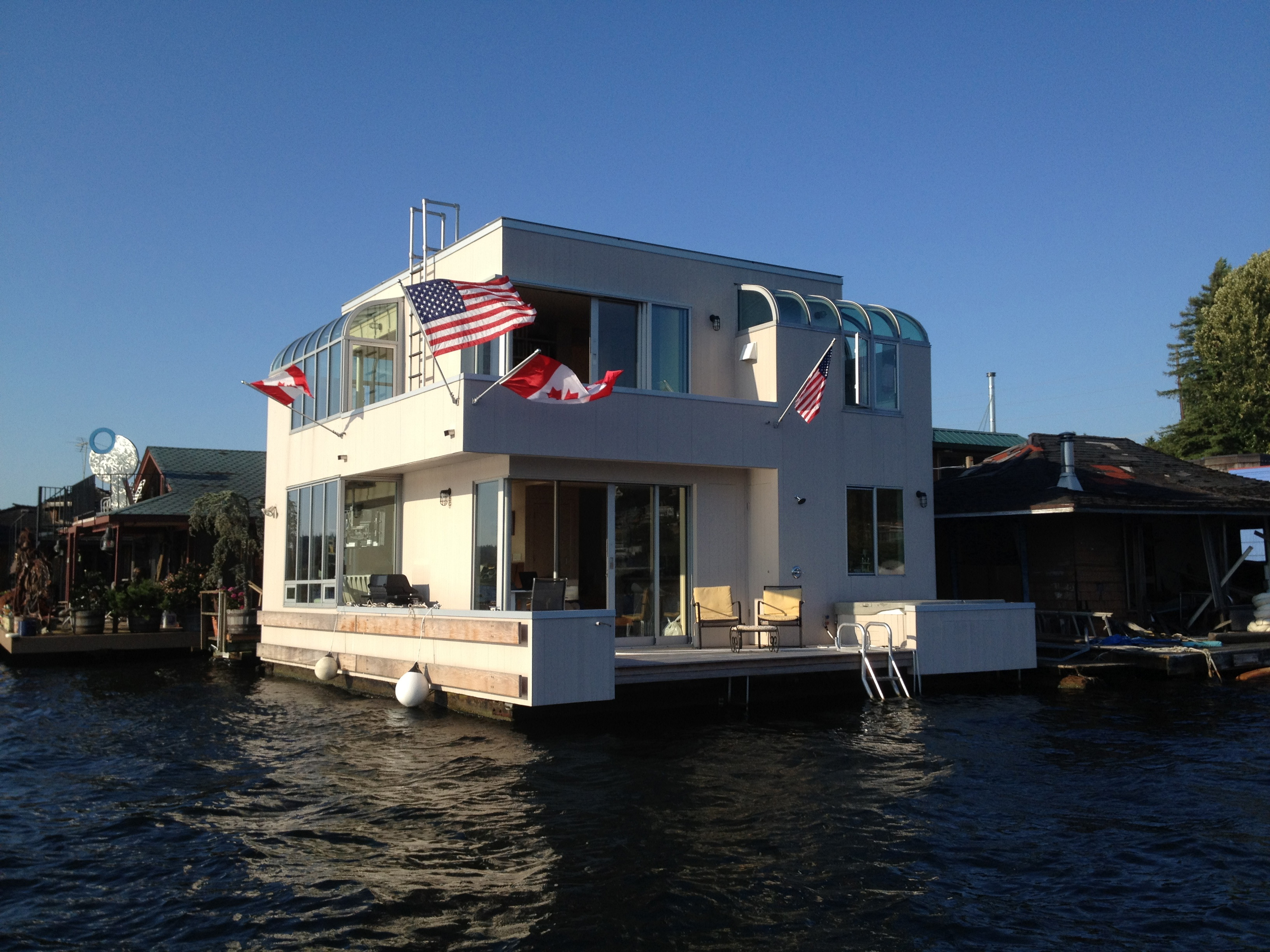 rentals property at Stunning Contemporary Floating Home