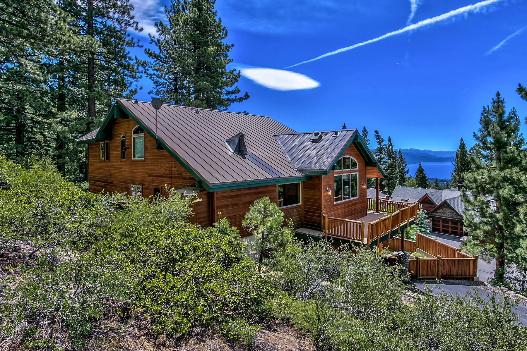 Maison unifamiliale pour l Vente à 1010 Apollo Way Incline Village, Nevada, 89451 Lake Tahoe, États-Unis