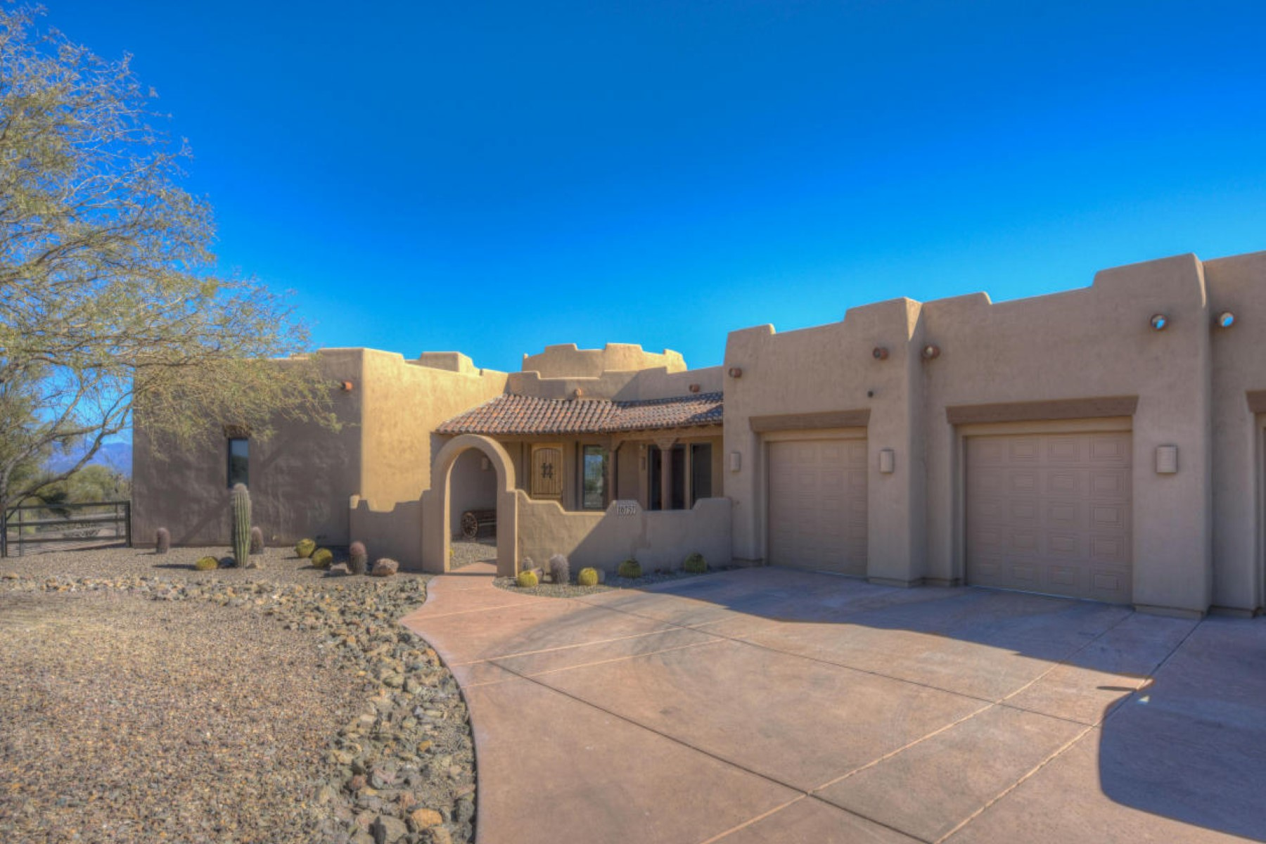 sales property at Custom one of a kind Santa Fe style home