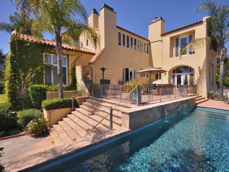 Частный односемейный дом для того Продажа на Santa Maria Road 3170 Santa Maria Road Topanga, Калифорния 90290 Соединенные Штаты