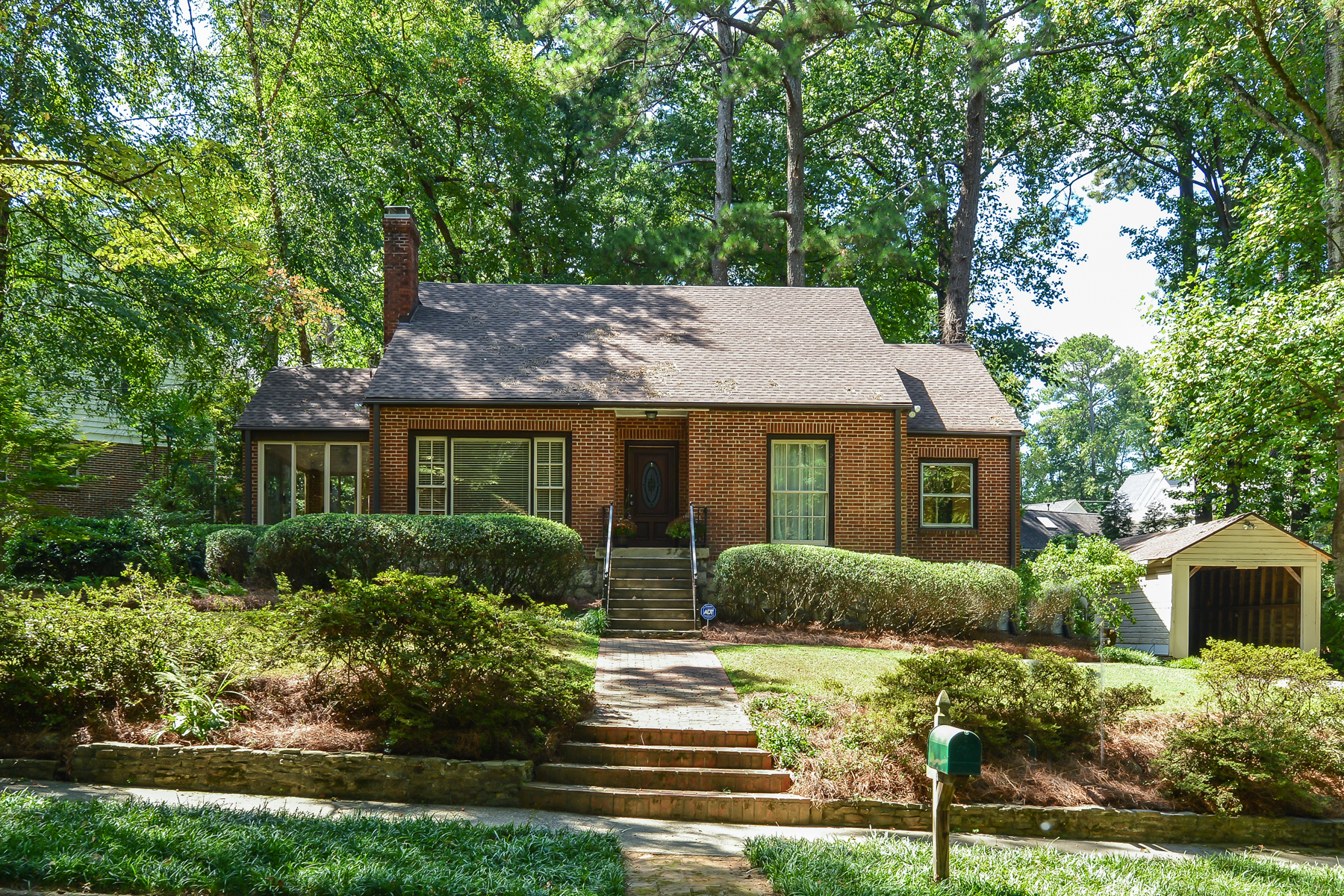 Single Family Home for Active at Charming Morningside Brick Home On The Park 1346 Beech Valley Road NE Atlanta, Georgia 30306 United States