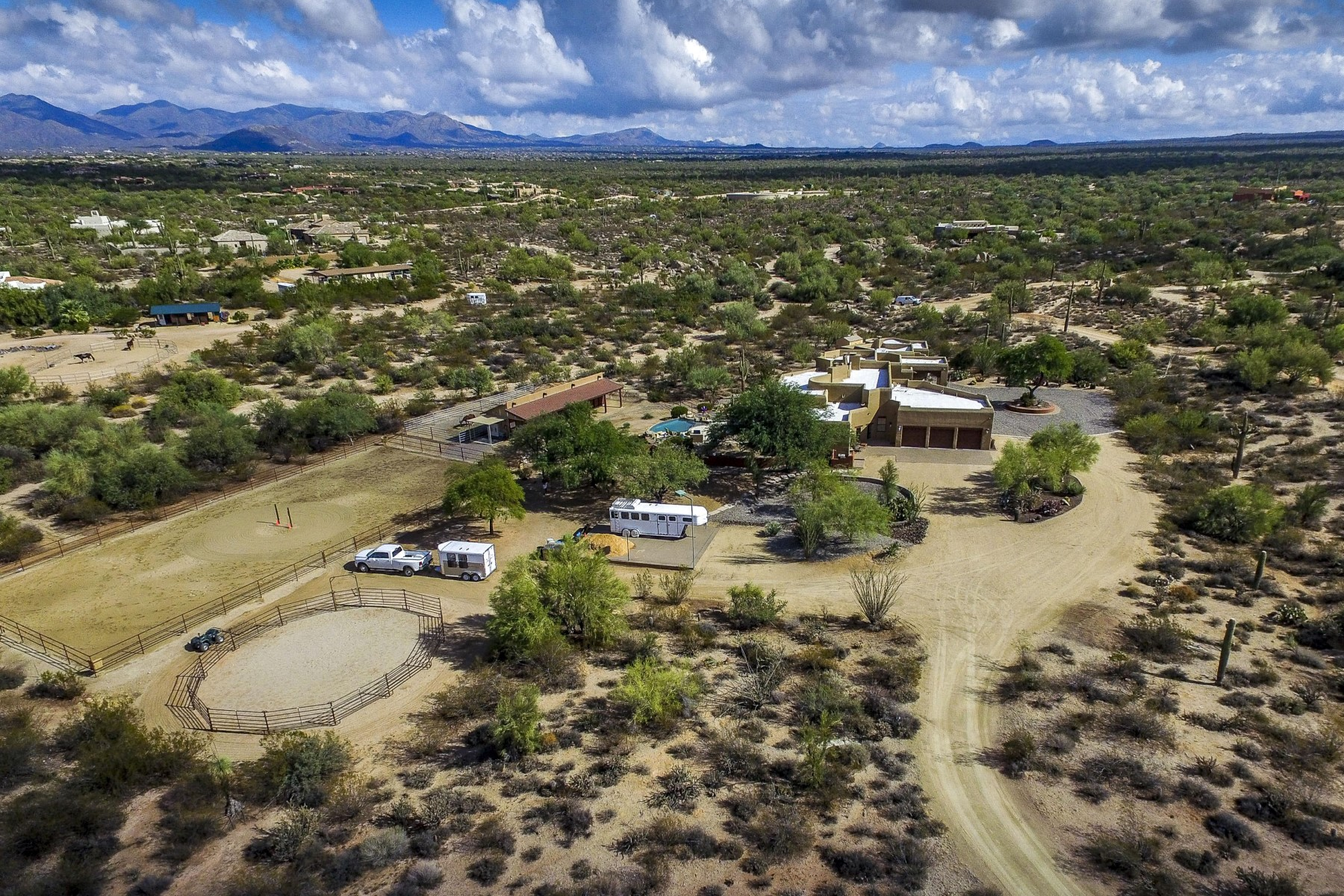Property For Sale at Ranch with panoramic mountain views