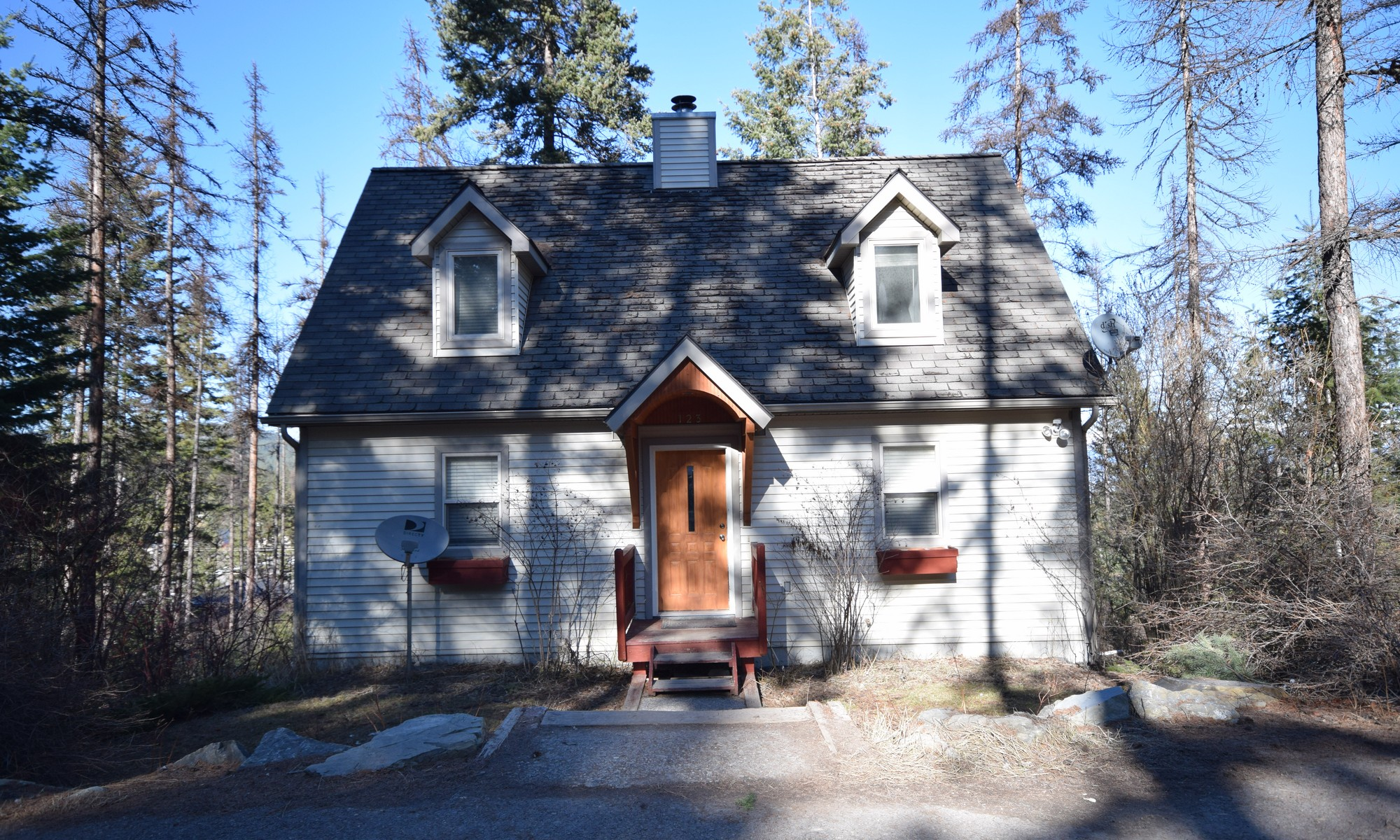 Single Family Home for Sale at Tamarack Woods 123 PARKVIEW LANE Lakeside, Montana 59922 United States