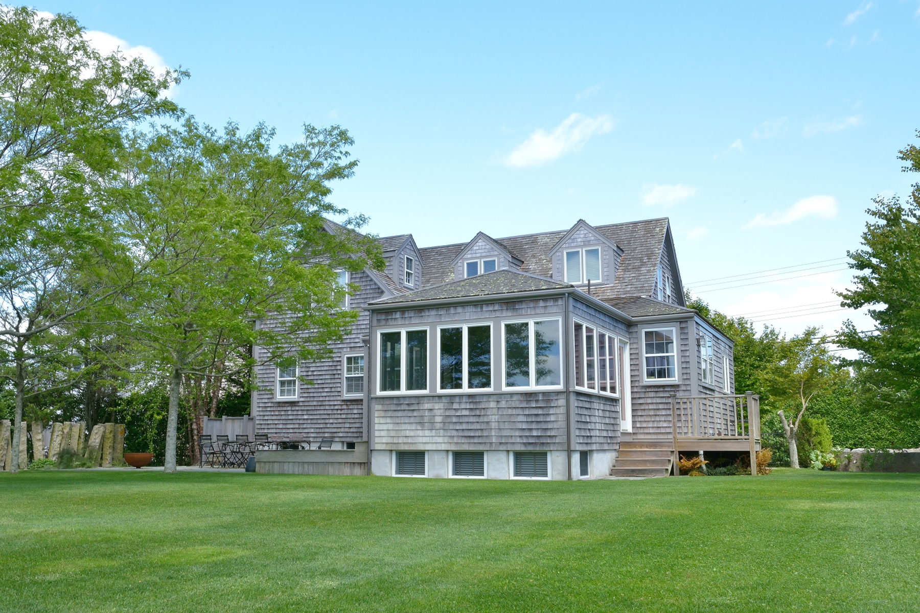 Single Family Home for Sale at Private and Serene! 81 Hummock Pond Road Nantucket, Massachusetts, 02554 United States