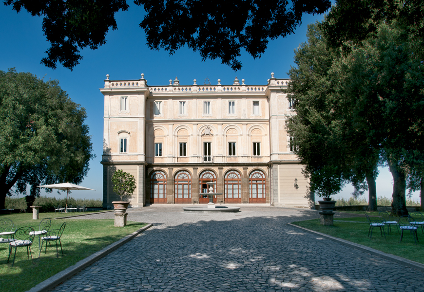 Einfamilienhaus für Verkauf beim Magnificent Historic Villa in Castelli Romani Via Umberto Pavoni Grottaferrata, Rome 00046 Italien