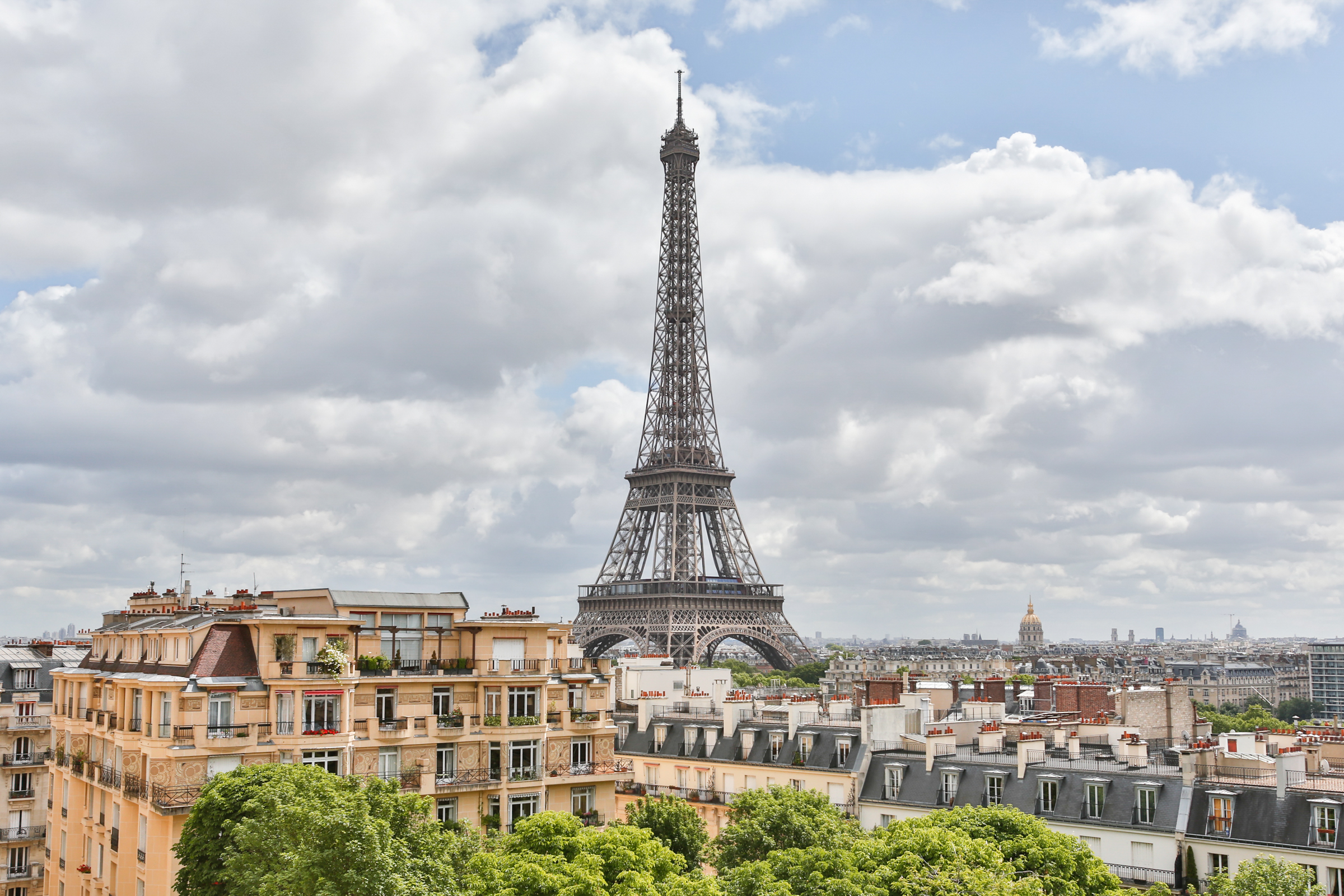 Property For Sale at Apartment with parisian monuments view - Passy Trocadero