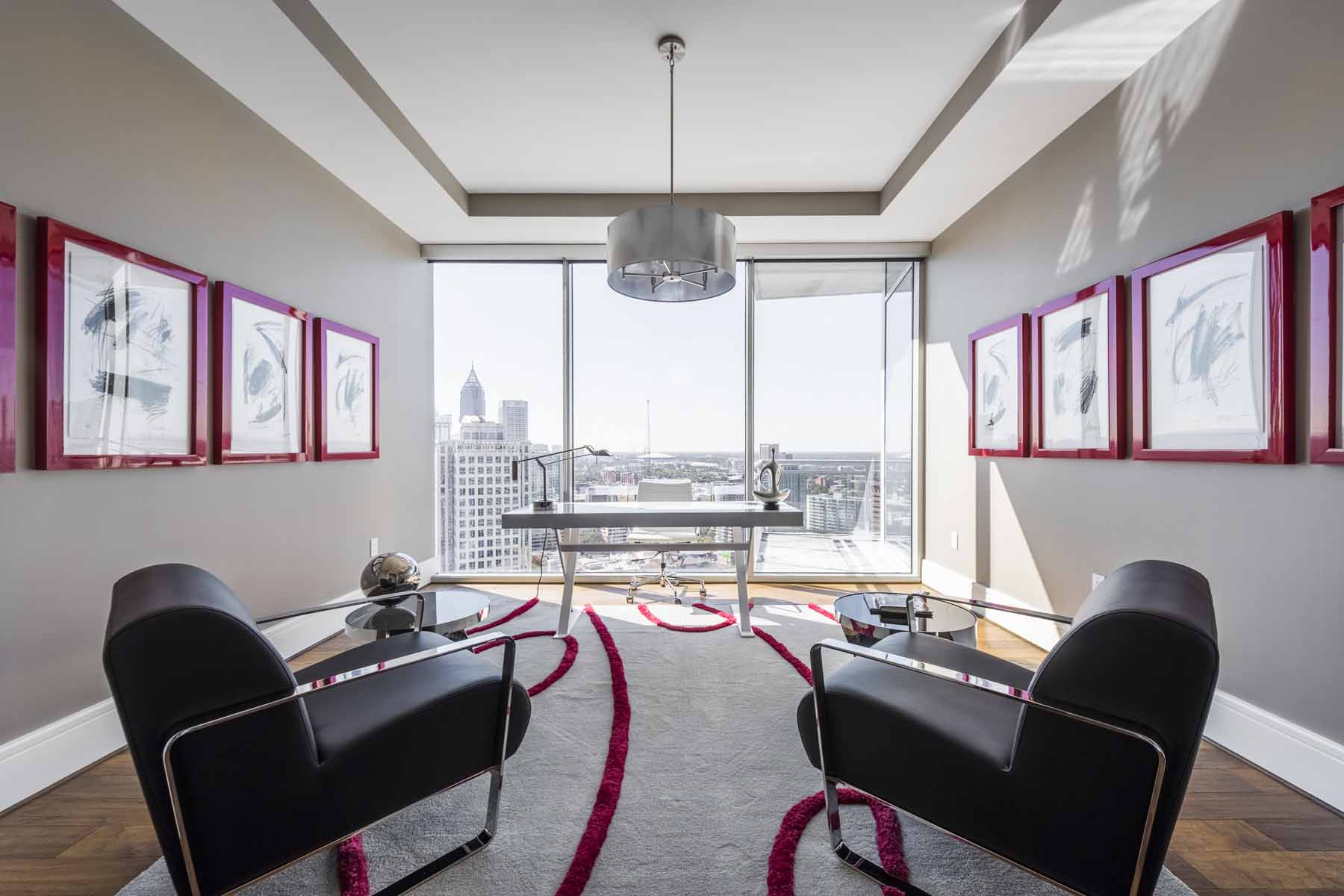 Copropriété pour l Vente à THREE BEDROOM IN HIP INTOWN LOCATION 1065 Peachtree Street NE No. 2804 Atlanta, Georgia 30309 États-Unis