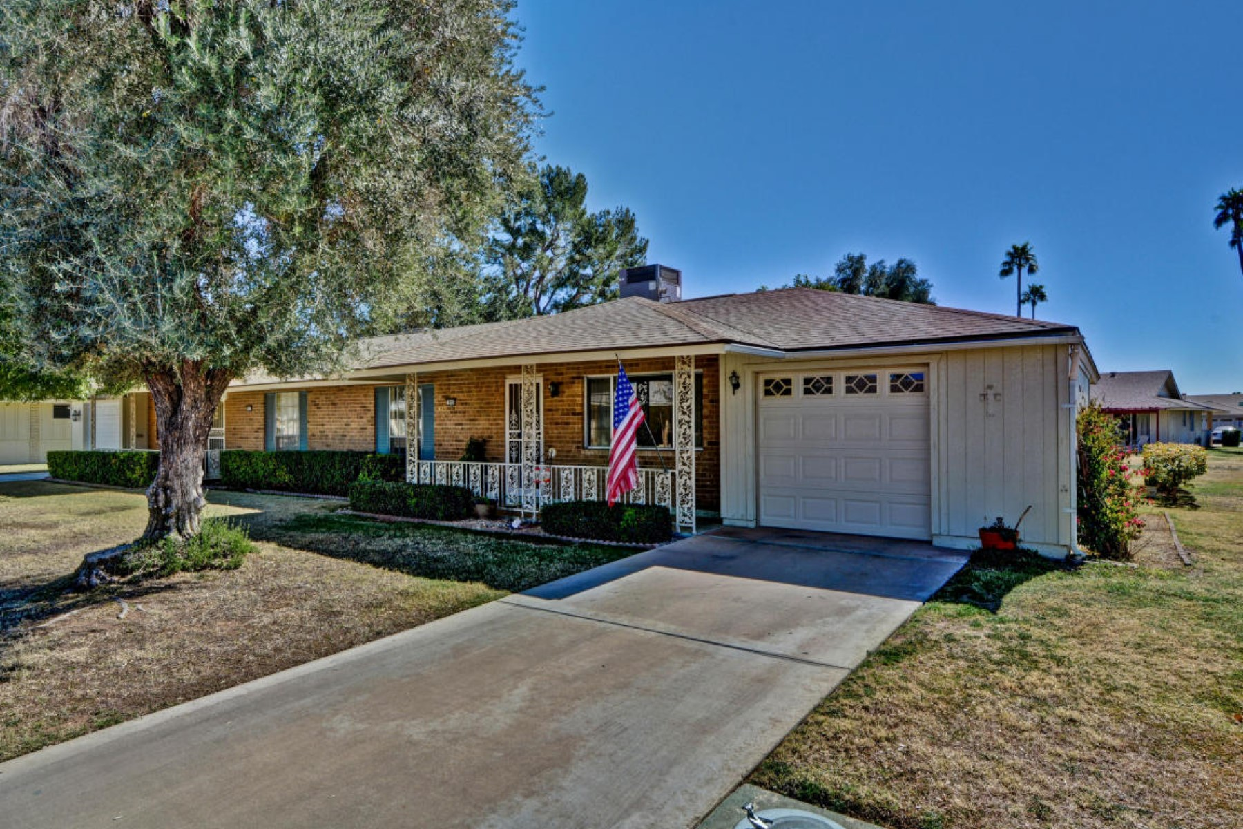 sales property at Gemini twin home on the corner lot
