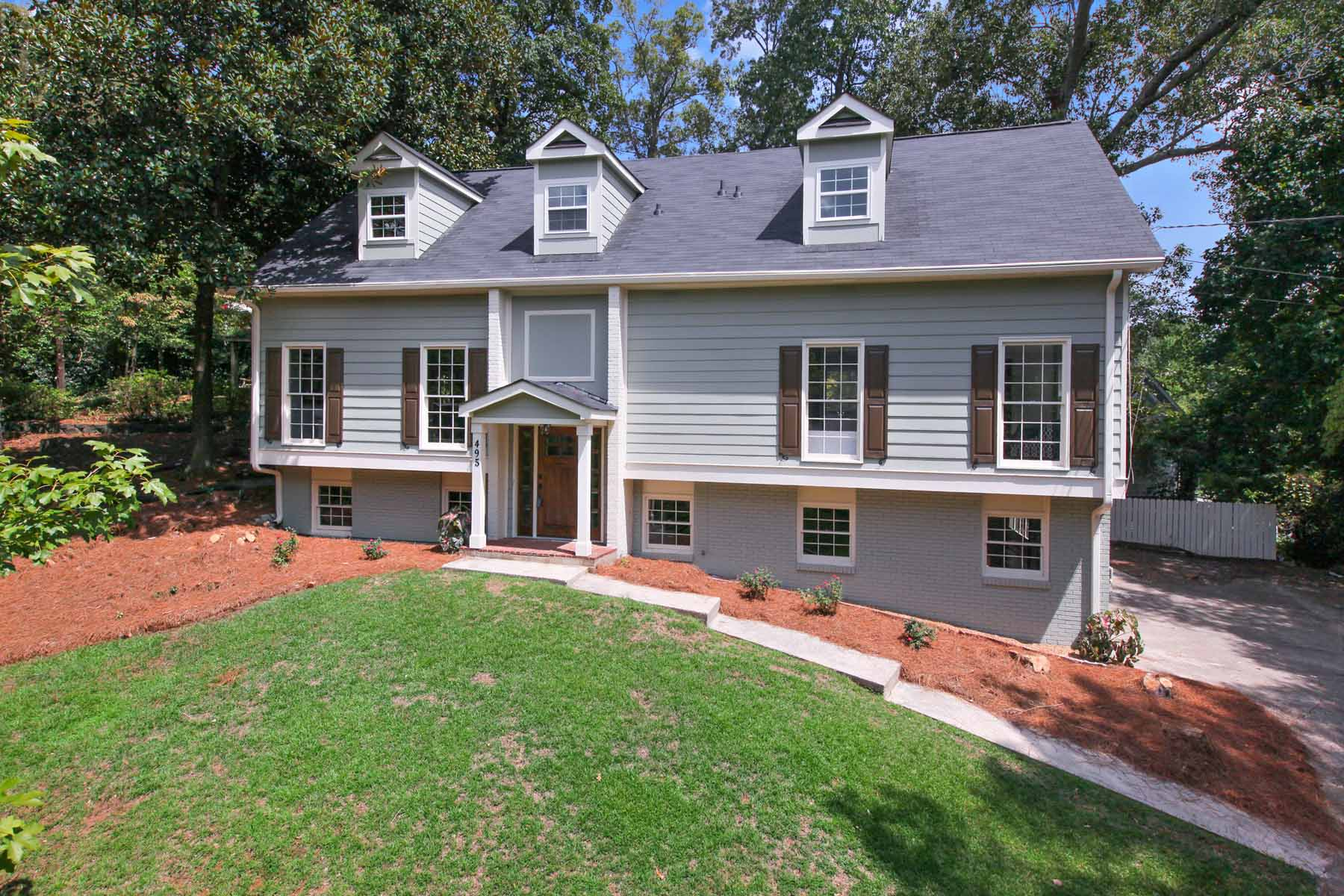Single Family Home for Active at Gorgeous Renovation in Sarah Smith Elementary 495 Chateaugay Lane Atlanta, Georgia 30342 United States