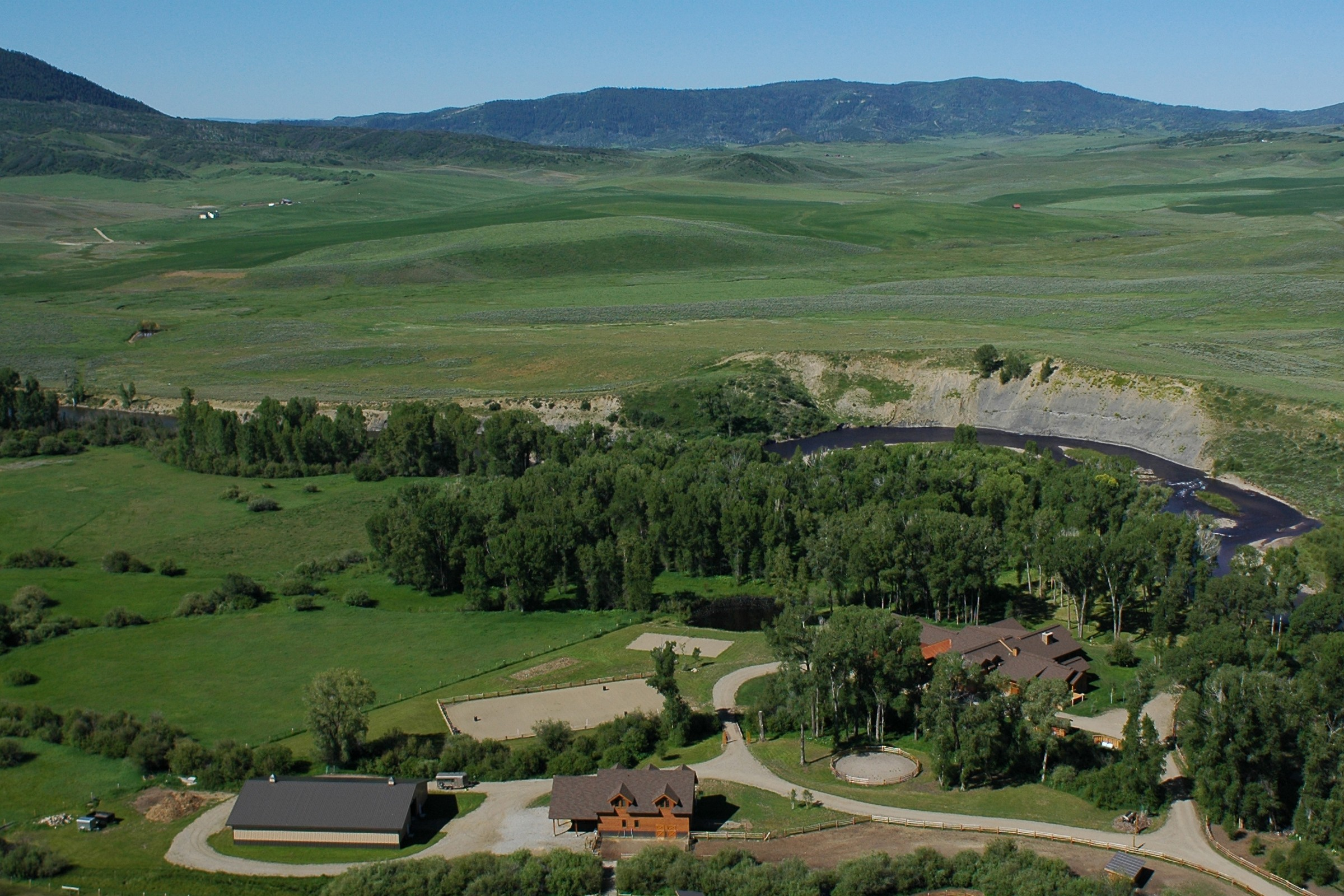 Farm / Ranch / Plantation for Sale at Elk River Ranch 25563 County Road 54 Steamboat Springs, Colorado, 80487 United States