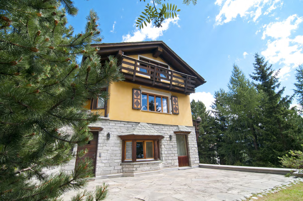 Single Family Home for Sale at Swiss style Chalet St. Moritz, Grisons Switzerland