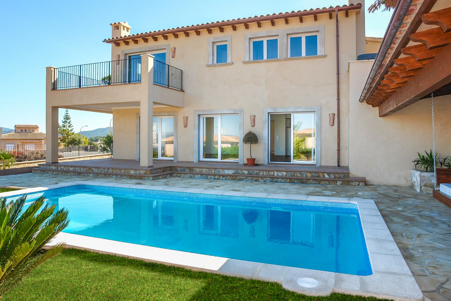 Single Family Home for Sale at Newly built villa in residential area Santa Ponsa, Mallorca 07180 Spain