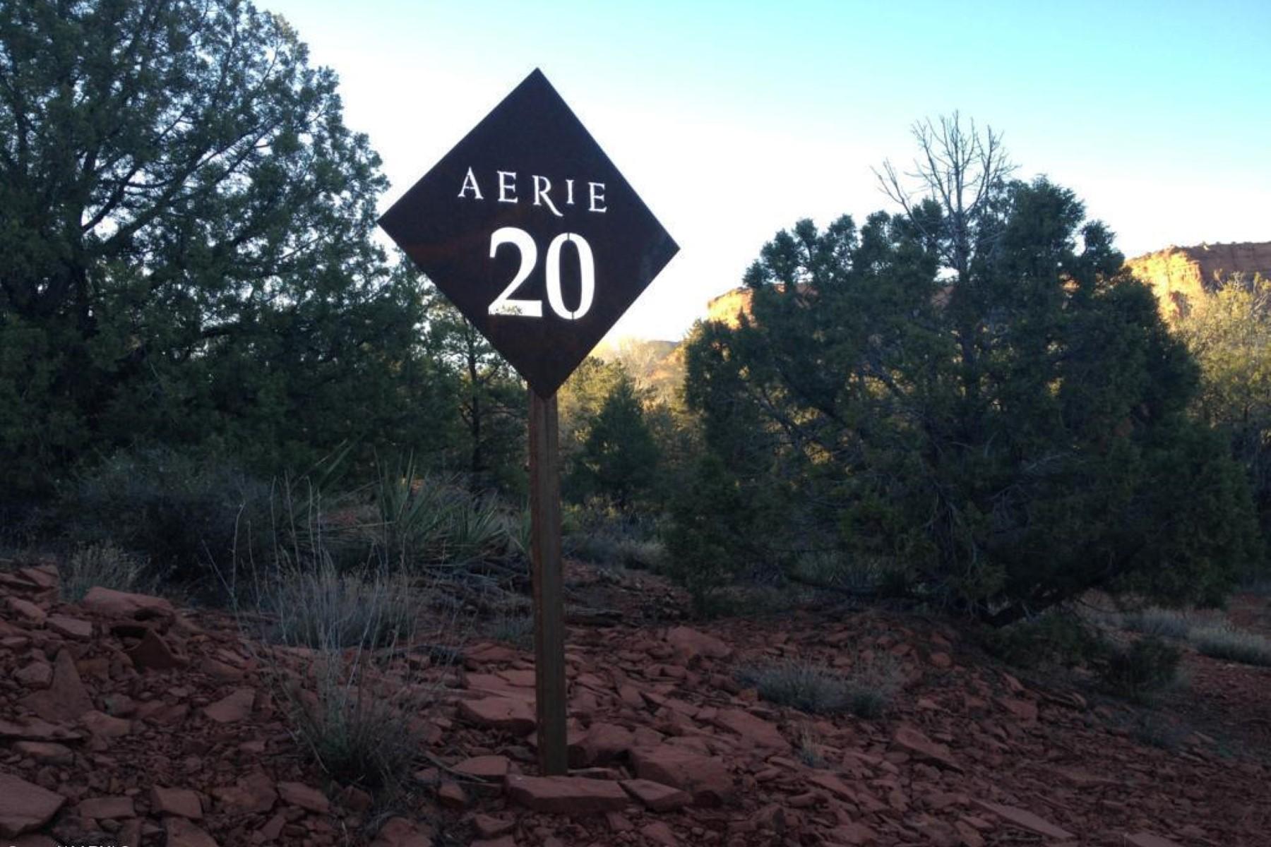 土地 为 销售 在 Gently sloped, very private lot with expansive red rock views. 150 Altair AVE Sedona, 亚利桑那州 86336 美国