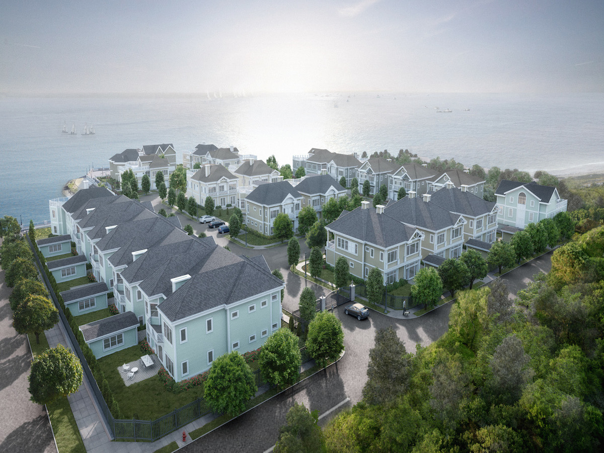 Appartement en copropriété pour l Vente à SPECTACULAR NEW 43 UNIT WATERFRONT DEVELOPMENT 39 Island Point City Island, Bronx, New York 10464 États-Unis