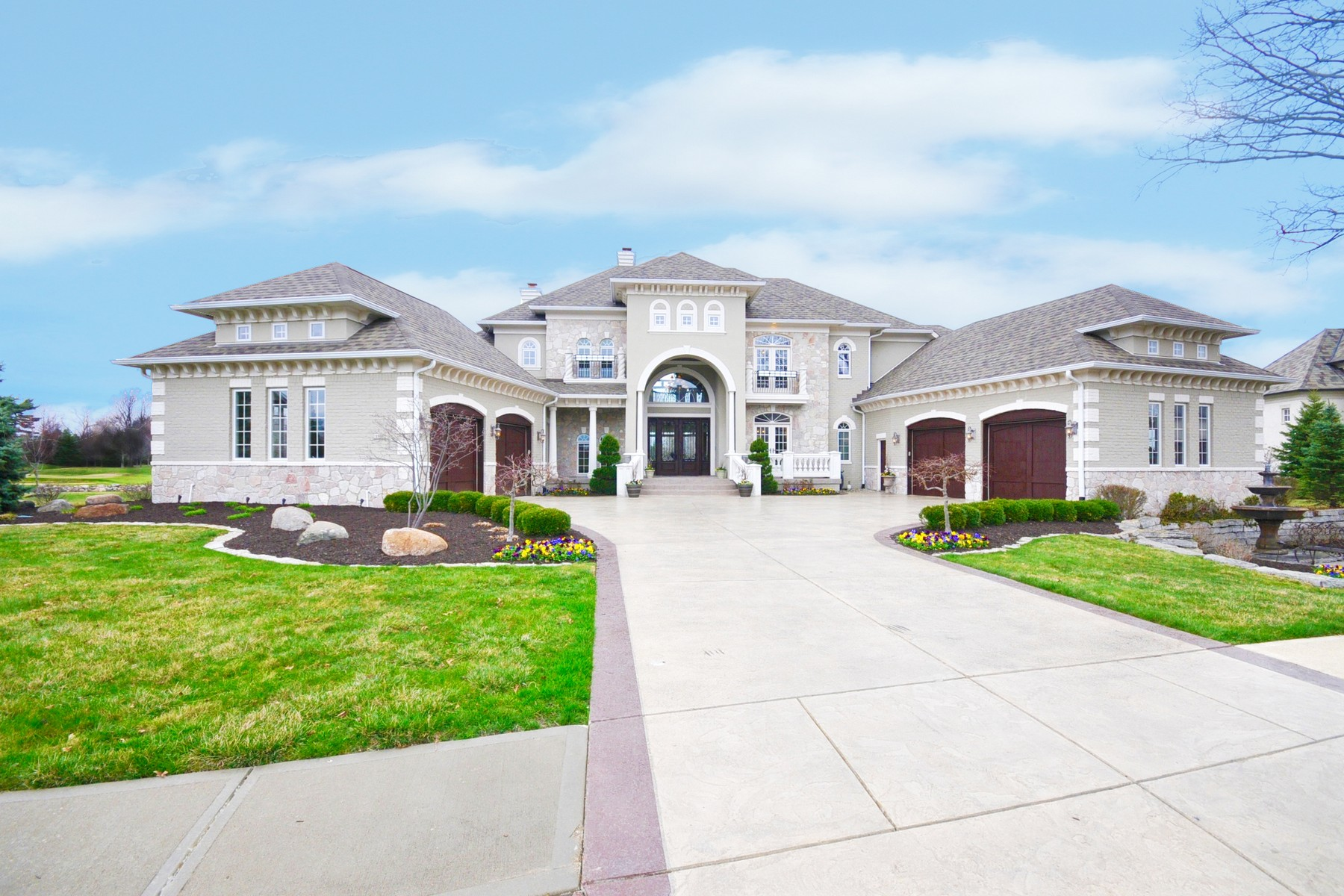 Single Family Home for Sale at Exquisite Exclusive Estate Home 15362 Whistling Lane Carmel, Indiana 46033 United States