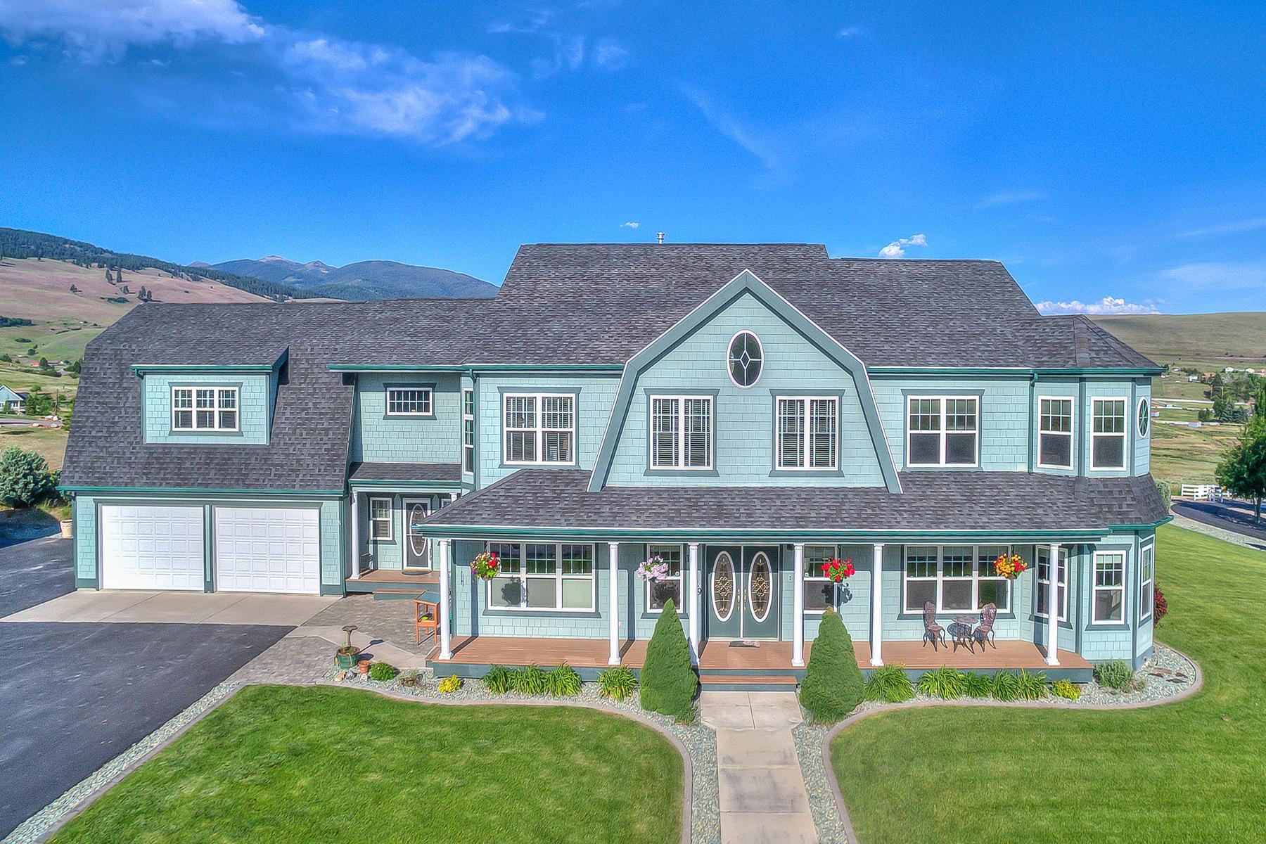 Maison unifamiliale pour l Vente à 11329 Tookie Trek Missoula, Montana 59808 États-Unis