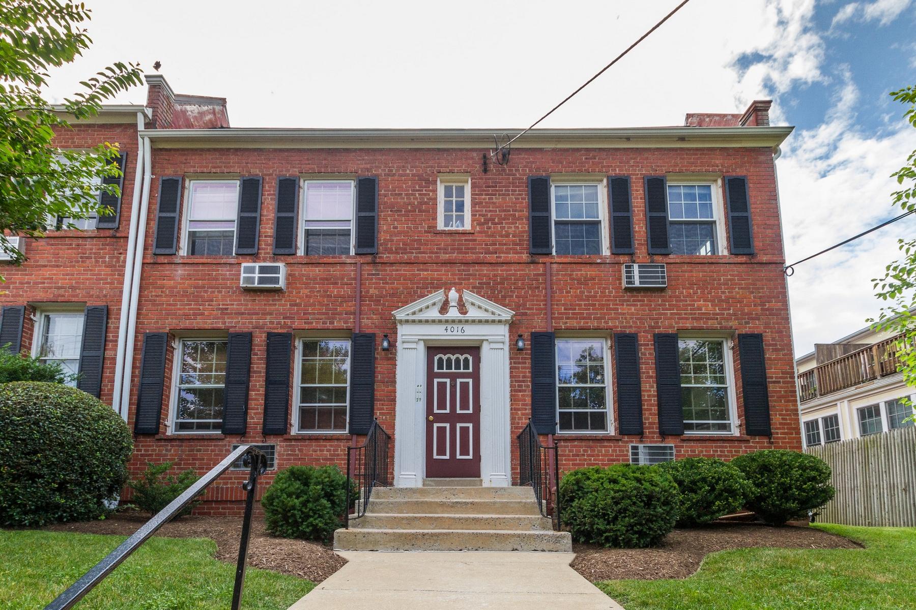 共管式独立产权公寓 为 销售 在 Spring Valley 4016 47th Street NW #1 Spring Valley, Washington, 哥伦比亚特区 20016 美国