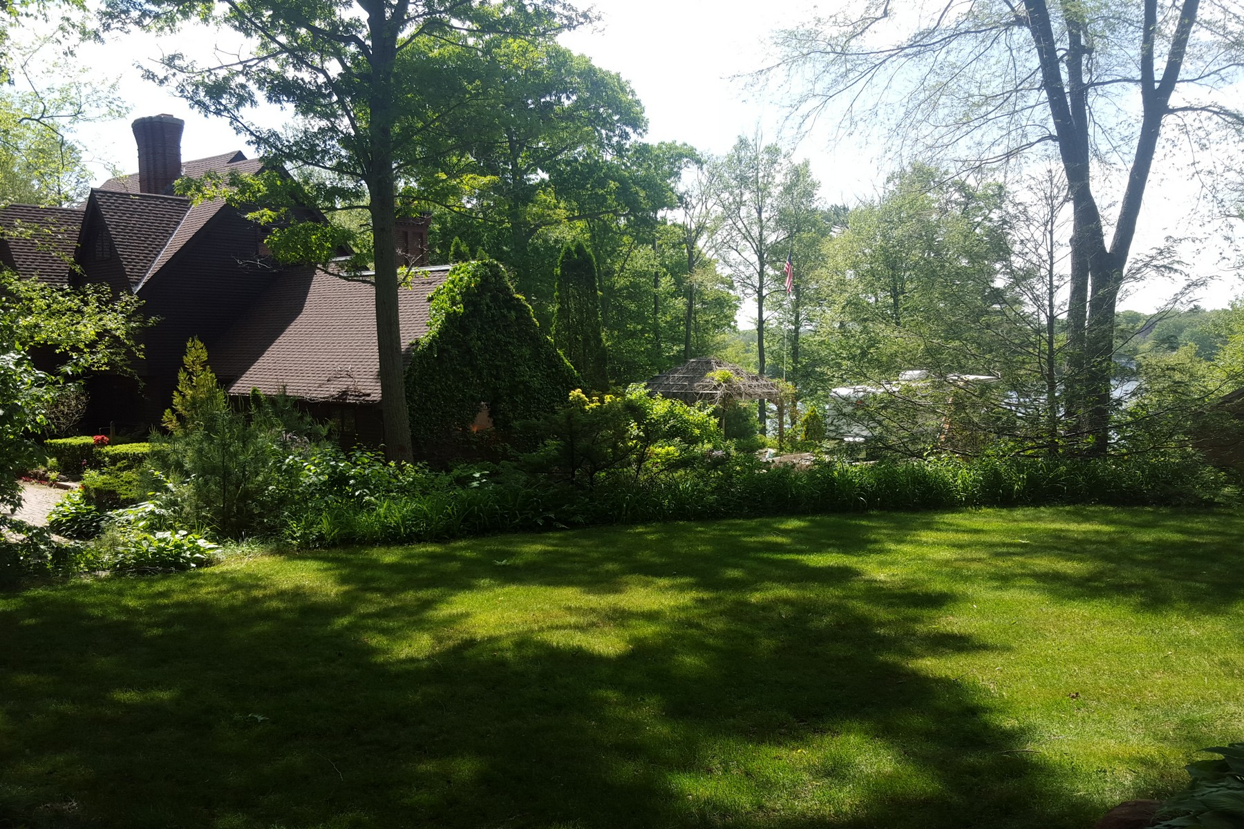 sales property at Lakefront English Style Colonial