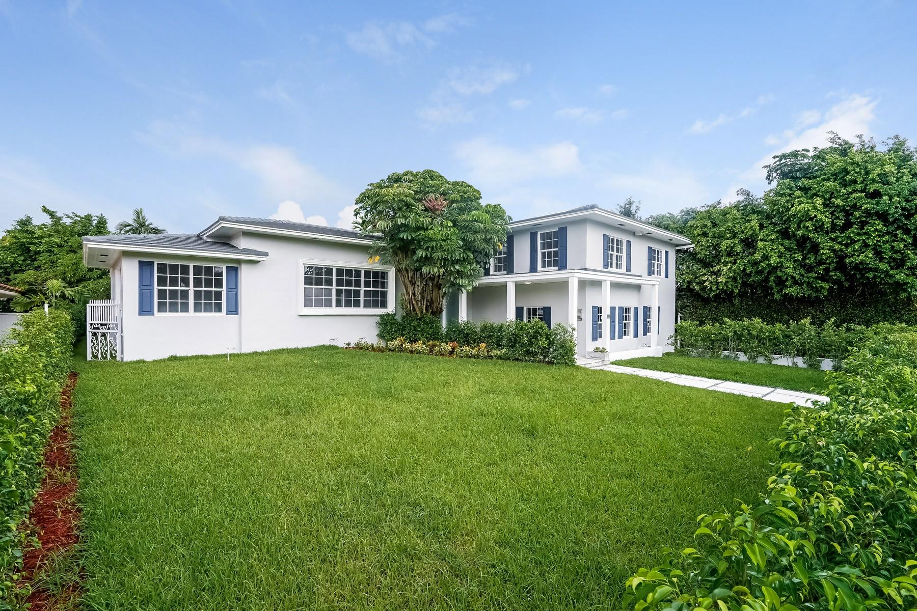 Casa para uma família para Venda às 4454 Meridian Ave Miami Beach, Florida 33149 Estados Unidos