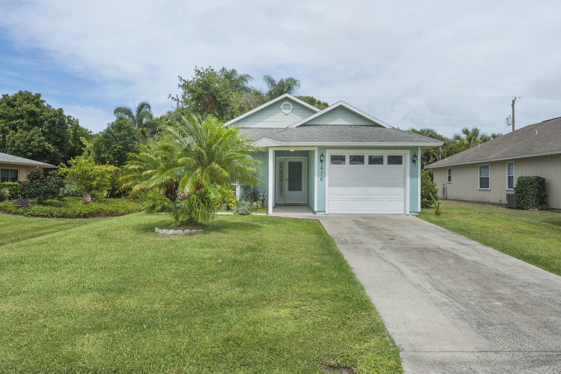 단독 가정 주택 용 매매 에 Lovely home in Royal Poinciana Park 476 14th Avenue Vero Beach, 플로리다 32962 미국