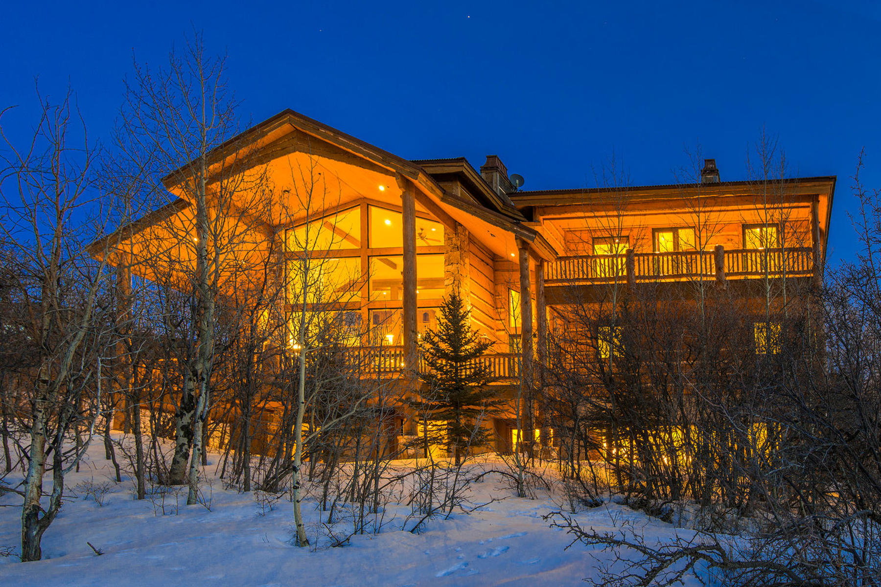 sales property at Magnificent custom home with indoor pool and incredible Park City views!